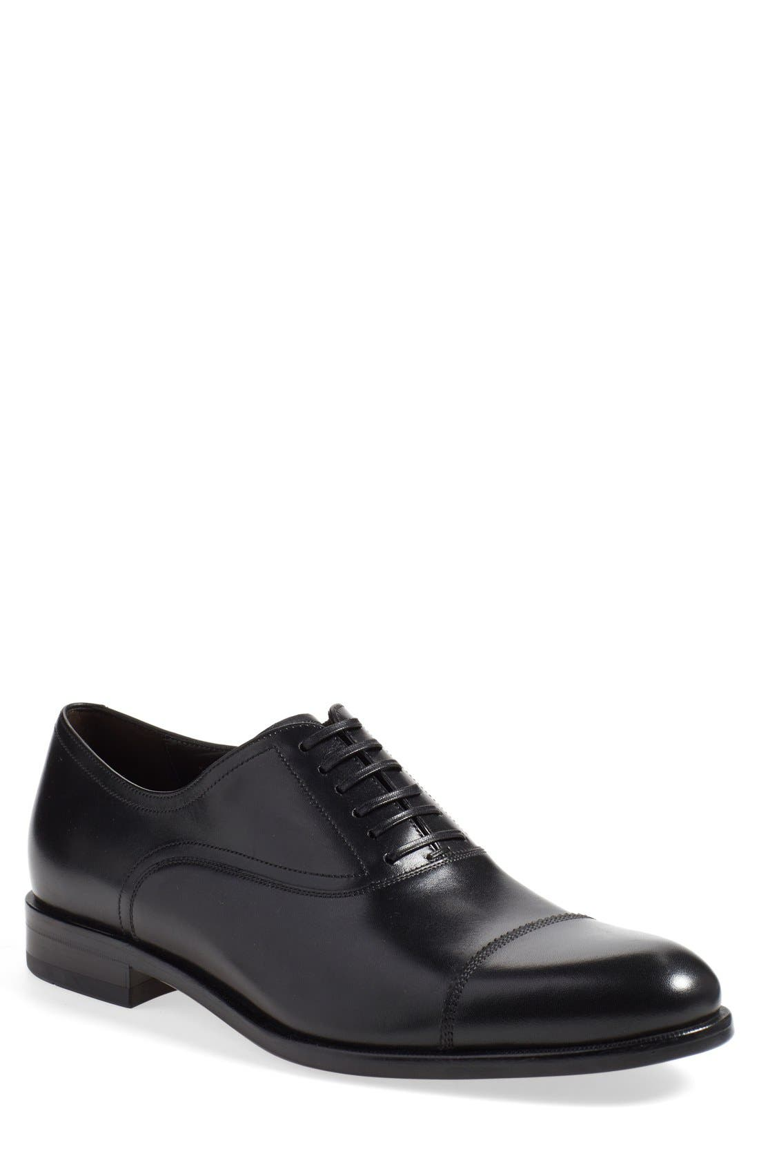 Salvatore Ferragamo 'Guru' Cap Toe Oxford (Men)