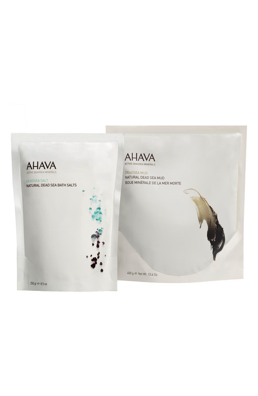 AHAVA 'Natural Mud & Salt' Set (Limited Edition)