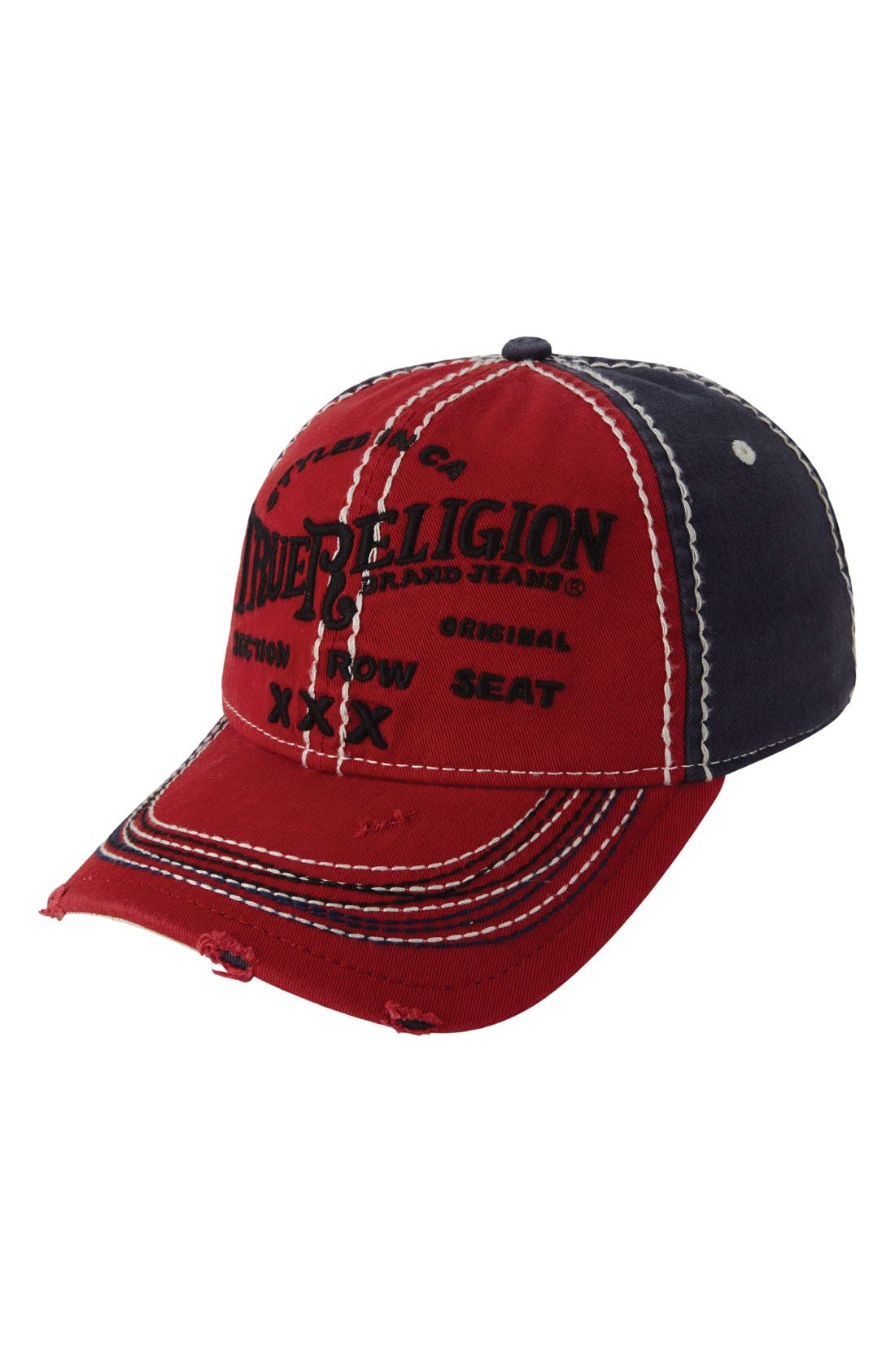 True Religion Brand Jeans 'Triple X' Baseball Cap