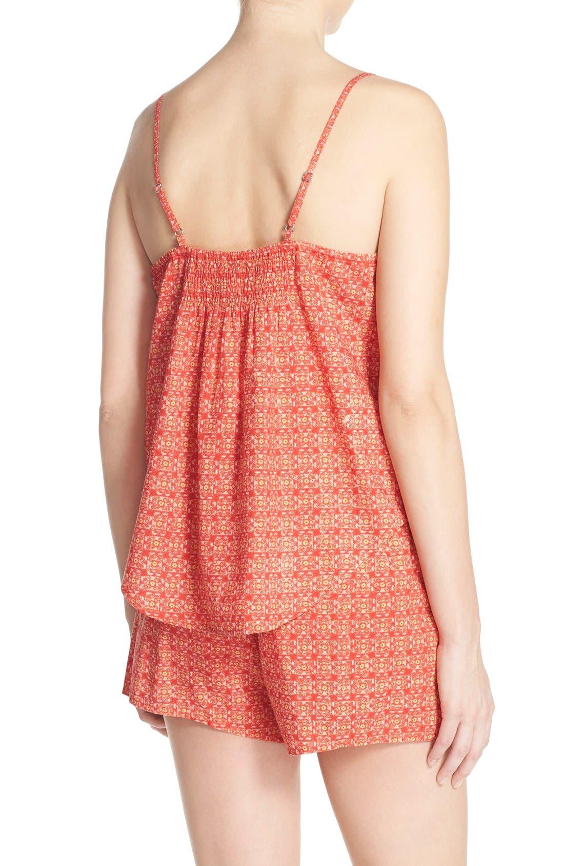 Alternate Image 2  - Lucky Brand Print Short Pajamas