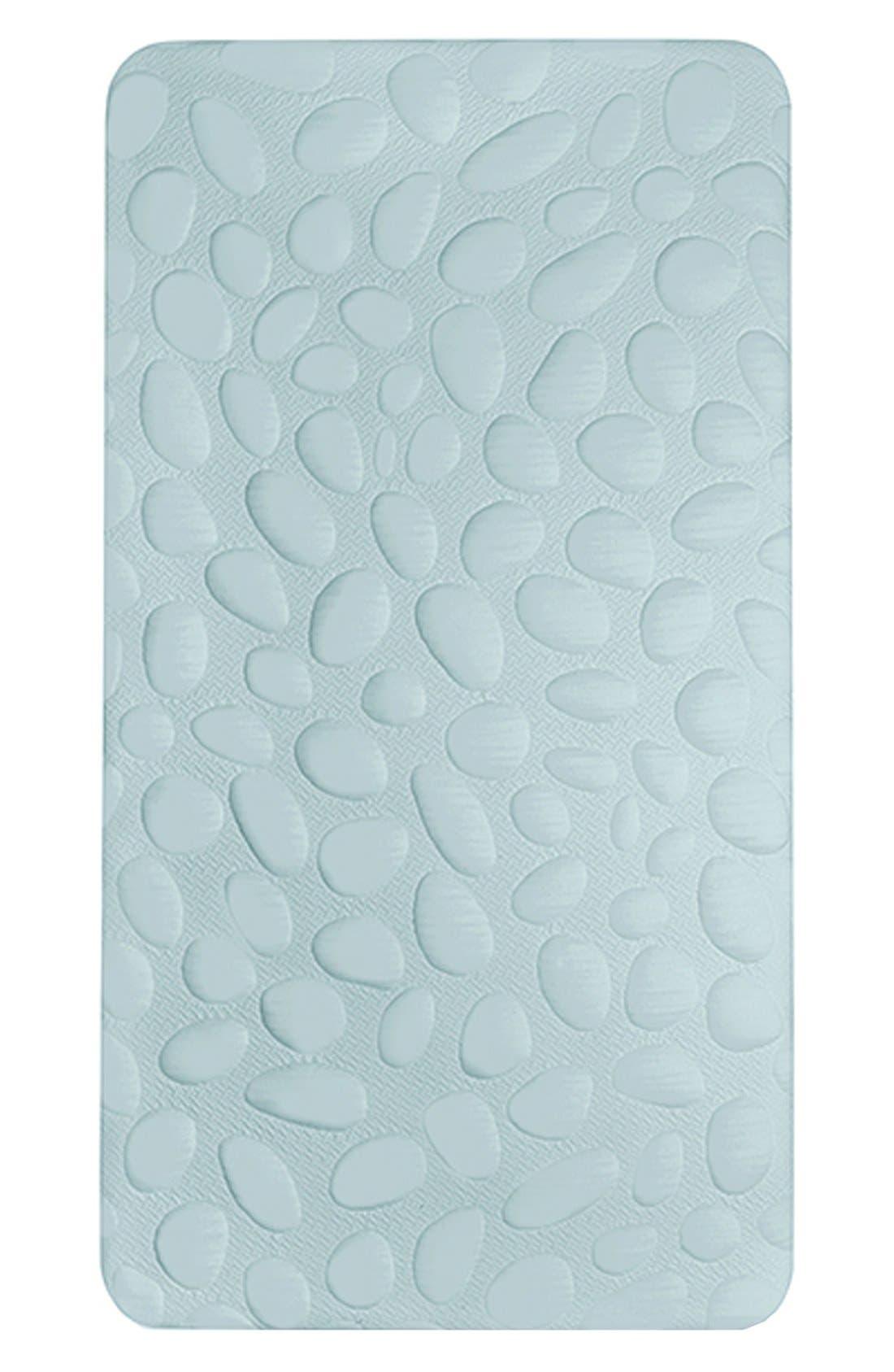 'Pebble Air' Crib Mattress,                         Main,                         color, Sea Glass