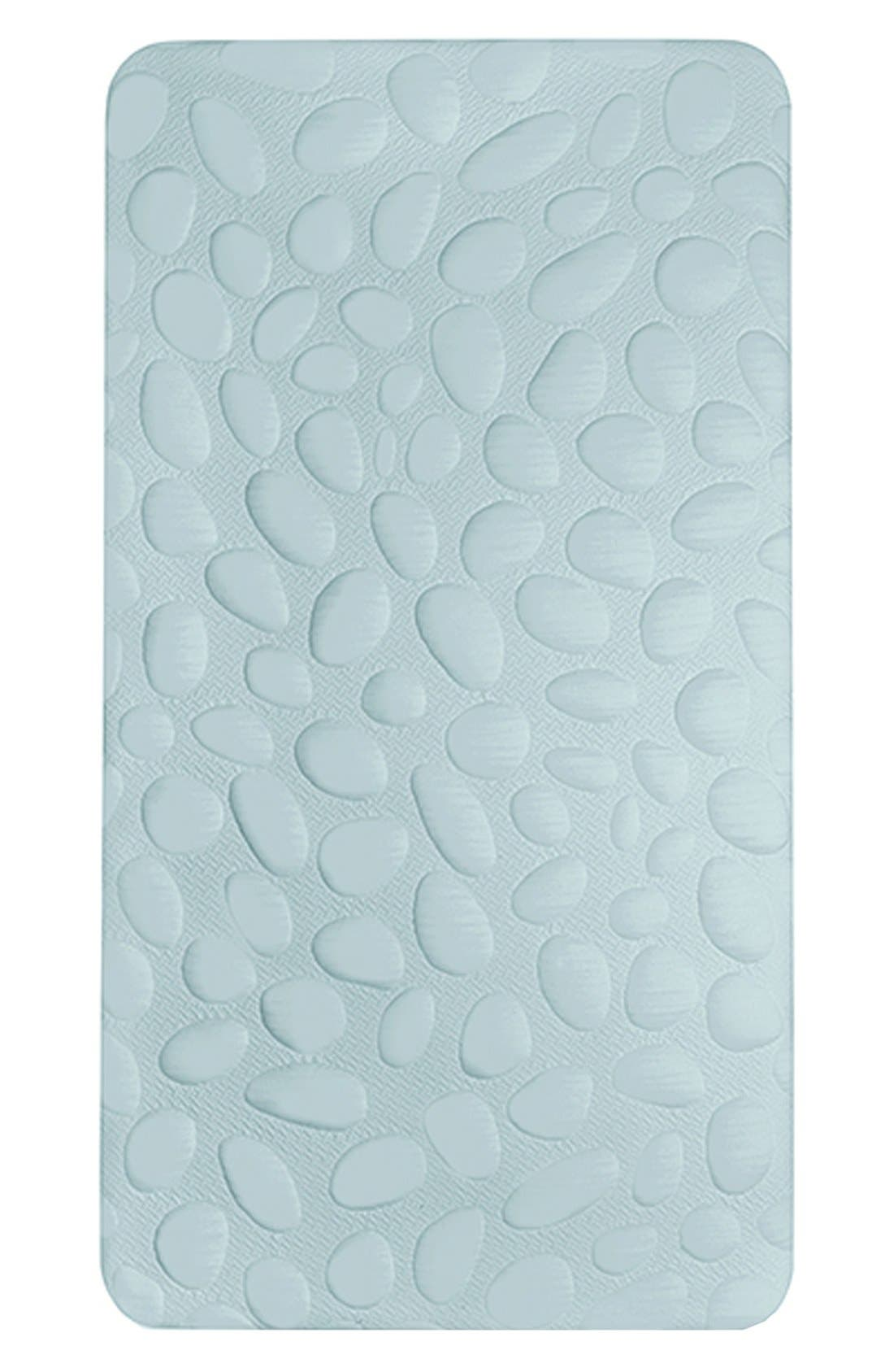 'Pebble Air' Crib Mattress,                         Main,                         color, Sea Glass