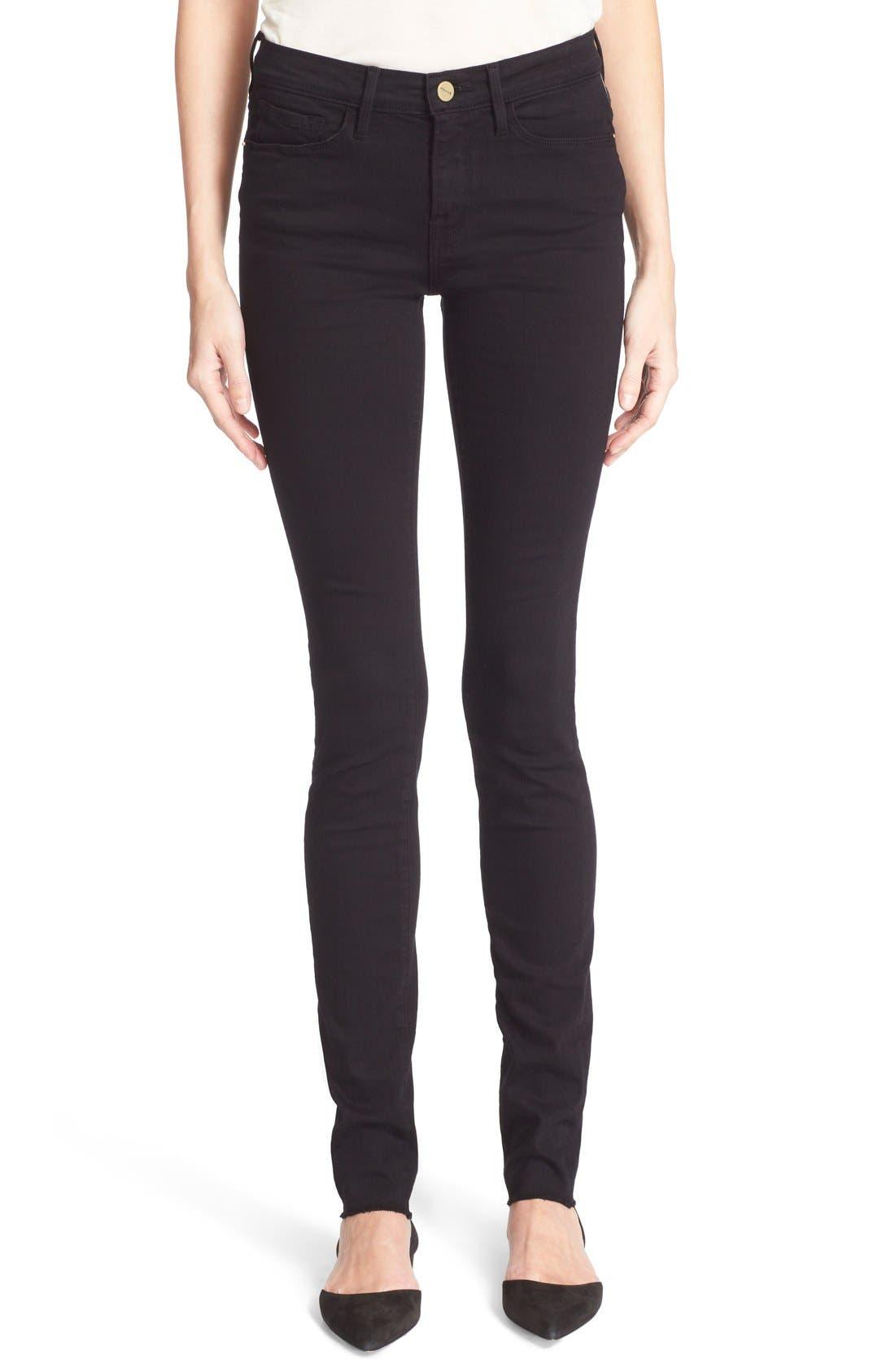 Forever Karlie Skinny Jeans,                         Main,                         color, Film Noir