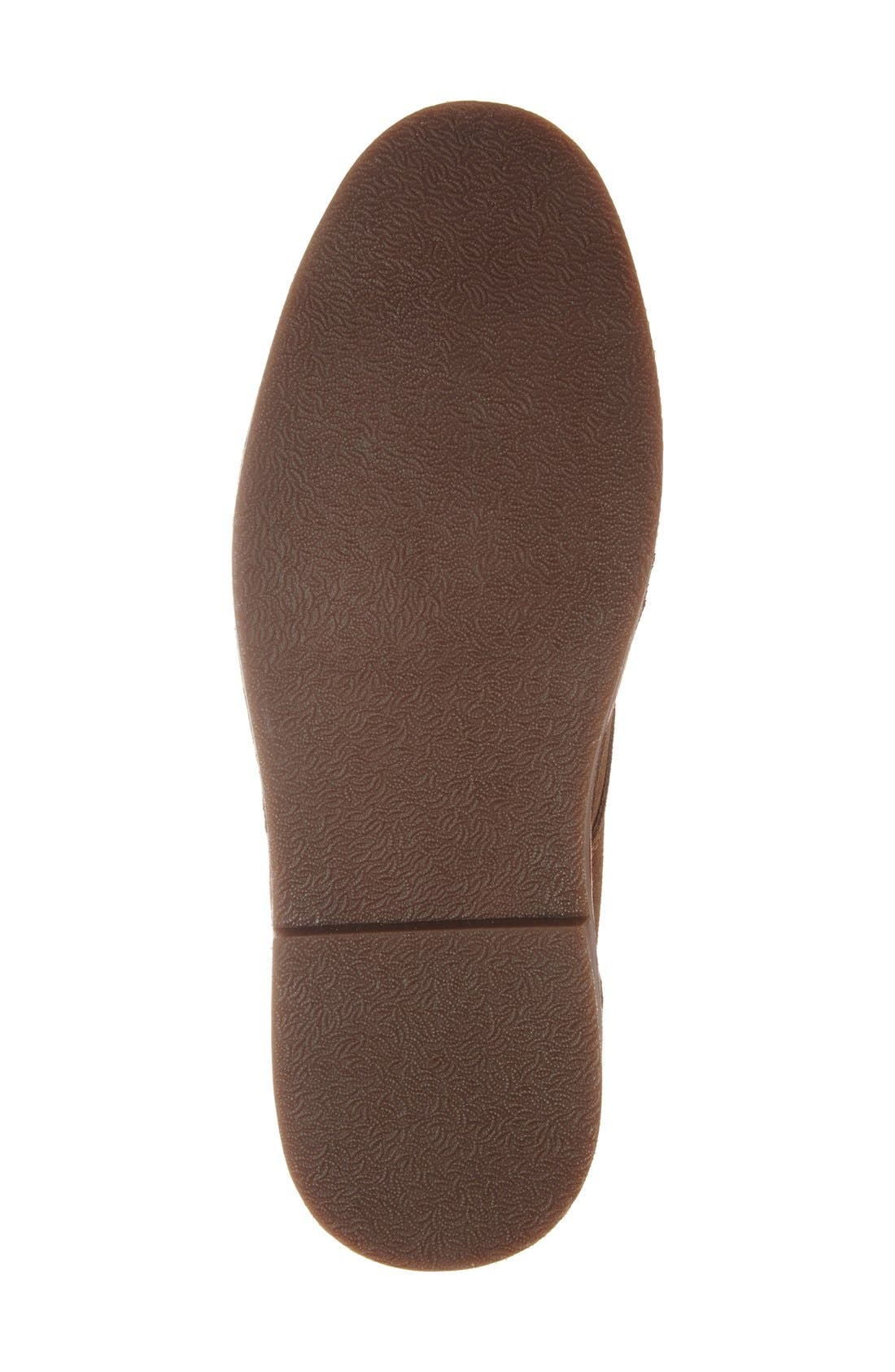 'Desert Sun' Chukka Boot,                             Alternate thumbnail 4, color,                             Taupe Suede
