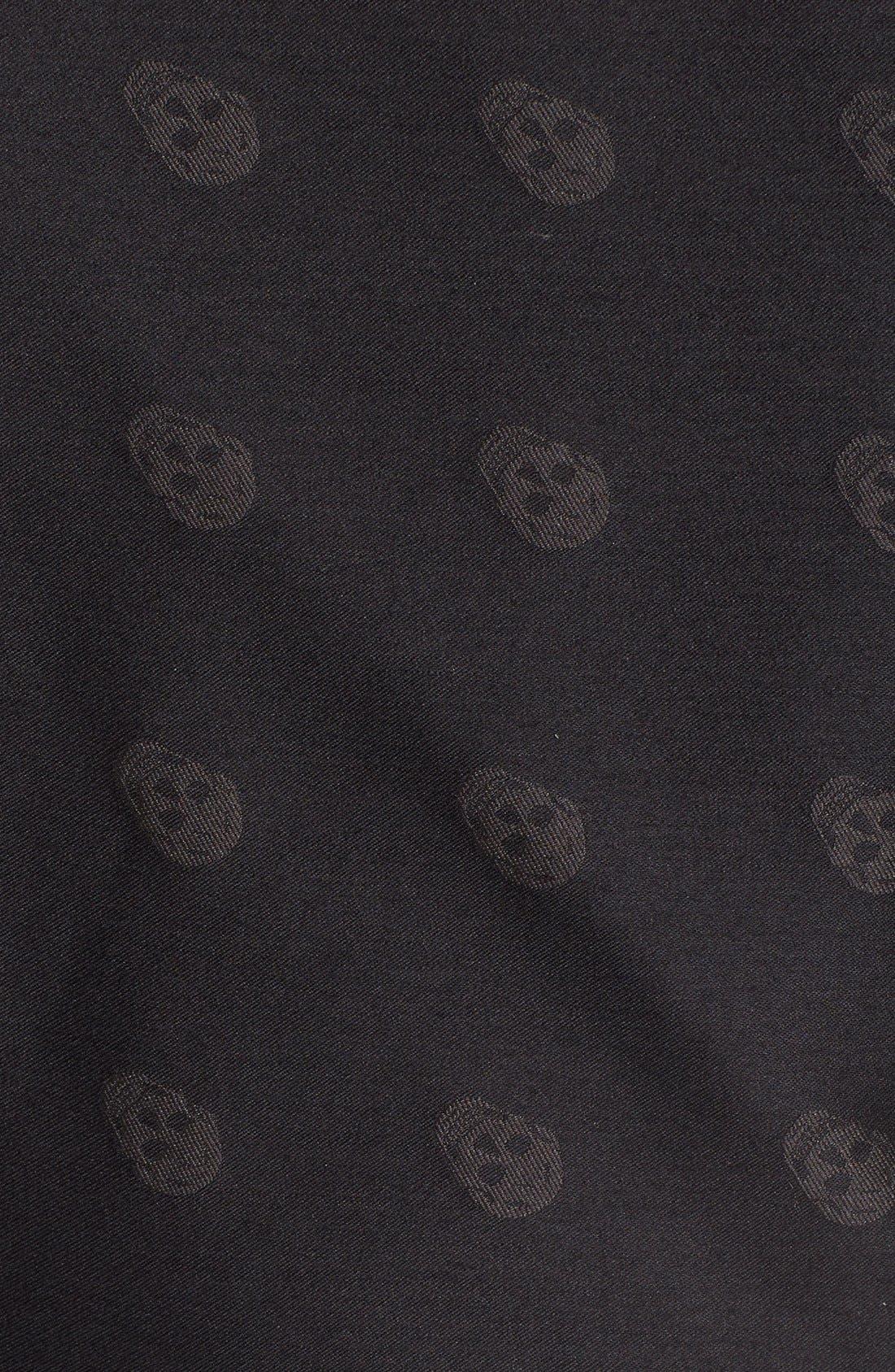 Alternate Image 3  - Alexander McQueen Chain Fringe Wool & Silk Scarf