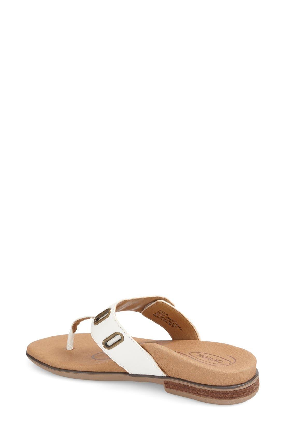 Alternate Image 2  - Aetrex 'Zara' Flip Flop (Women)