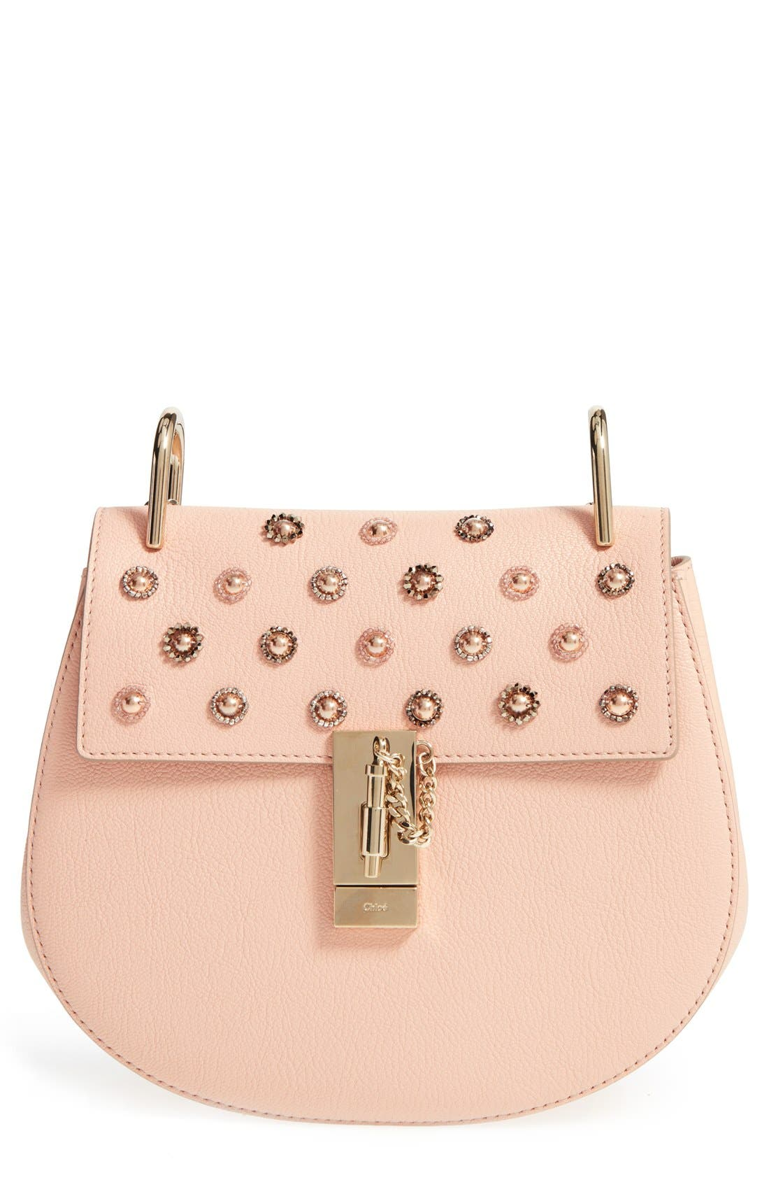 Main Image - Chloé 'Small Drew' Goatskin Leather Shoulder Bag