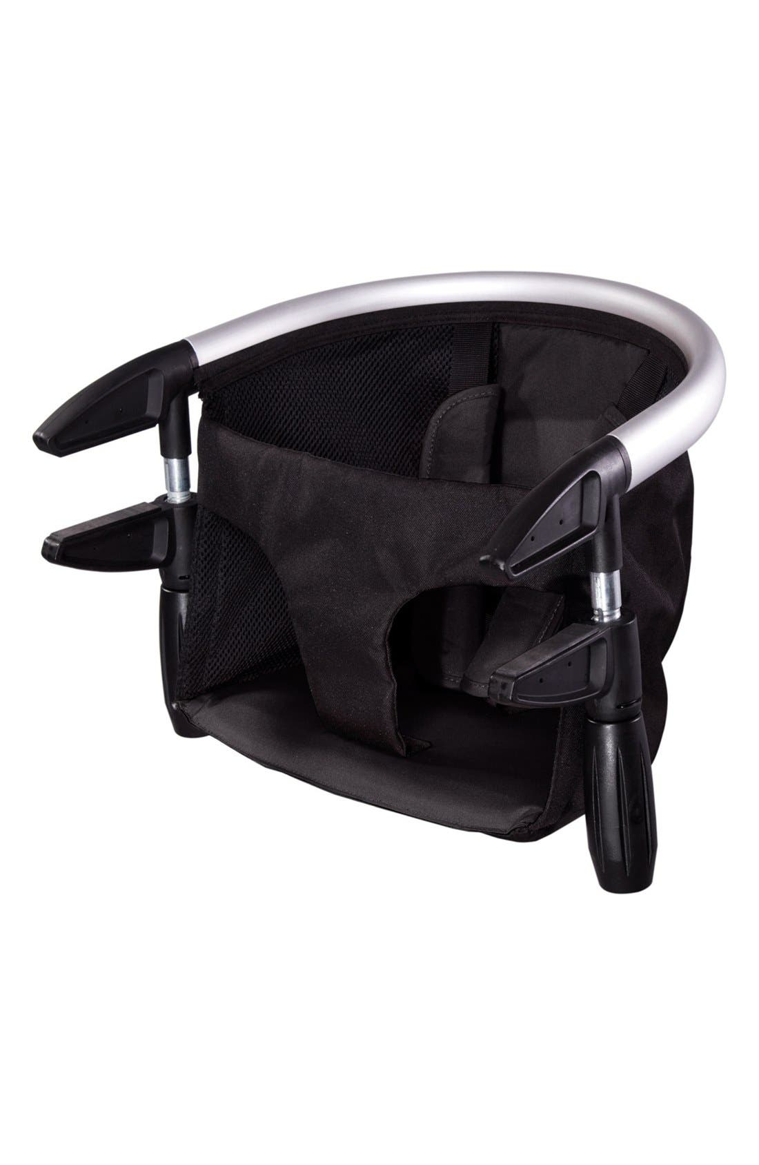 'Lobster<sup>™</sup>' Portable Clip-On Highchair,                             Alternate thumbnail 3, color,                             Black