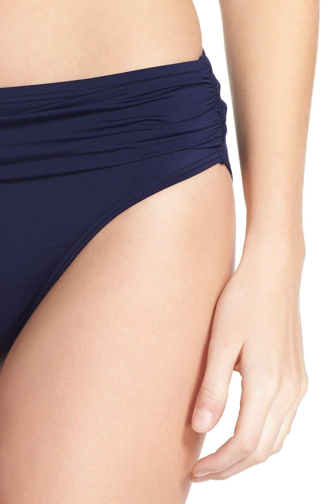 Alternate Image 3  - Tommy Bahama 'Pearl' High Waist Bikini Bottoms