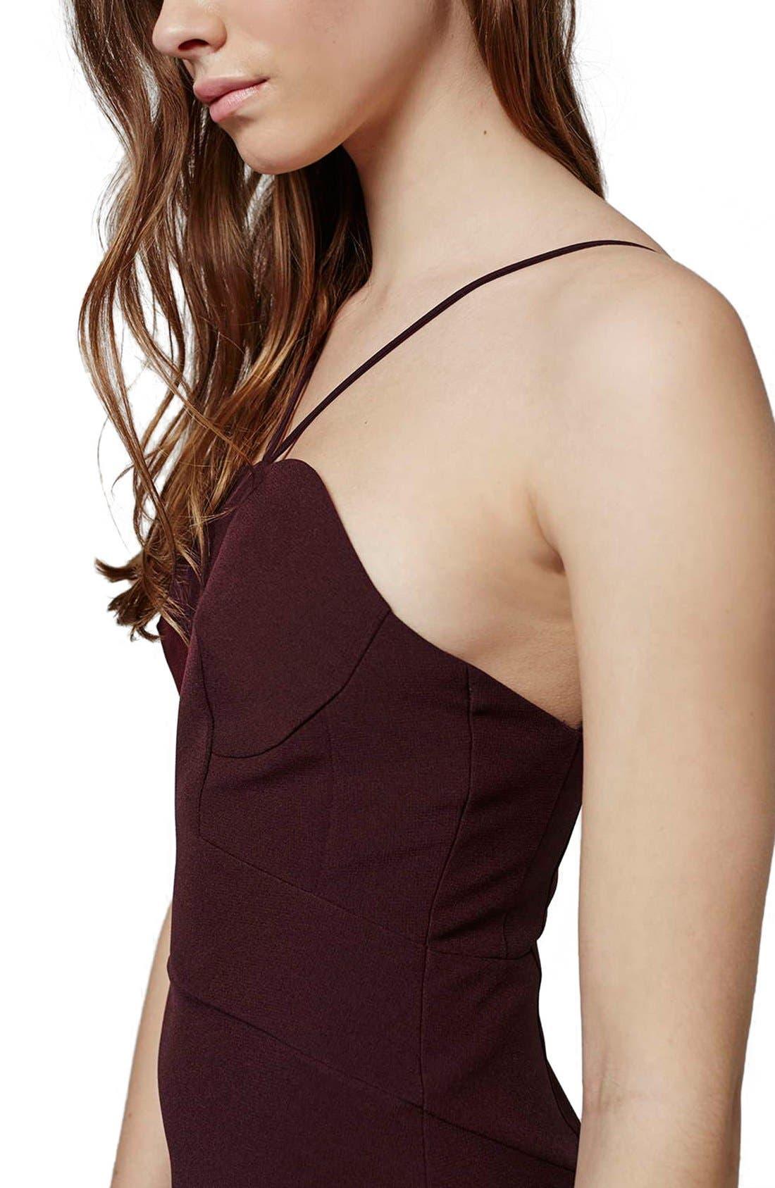 Alternate Image 3  - Topshop Strappy Column Maxi Dress