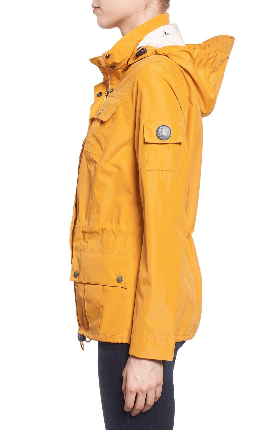Alternate Image 3  - Barbour 'Bowline' Hooded Waterproof Jacket