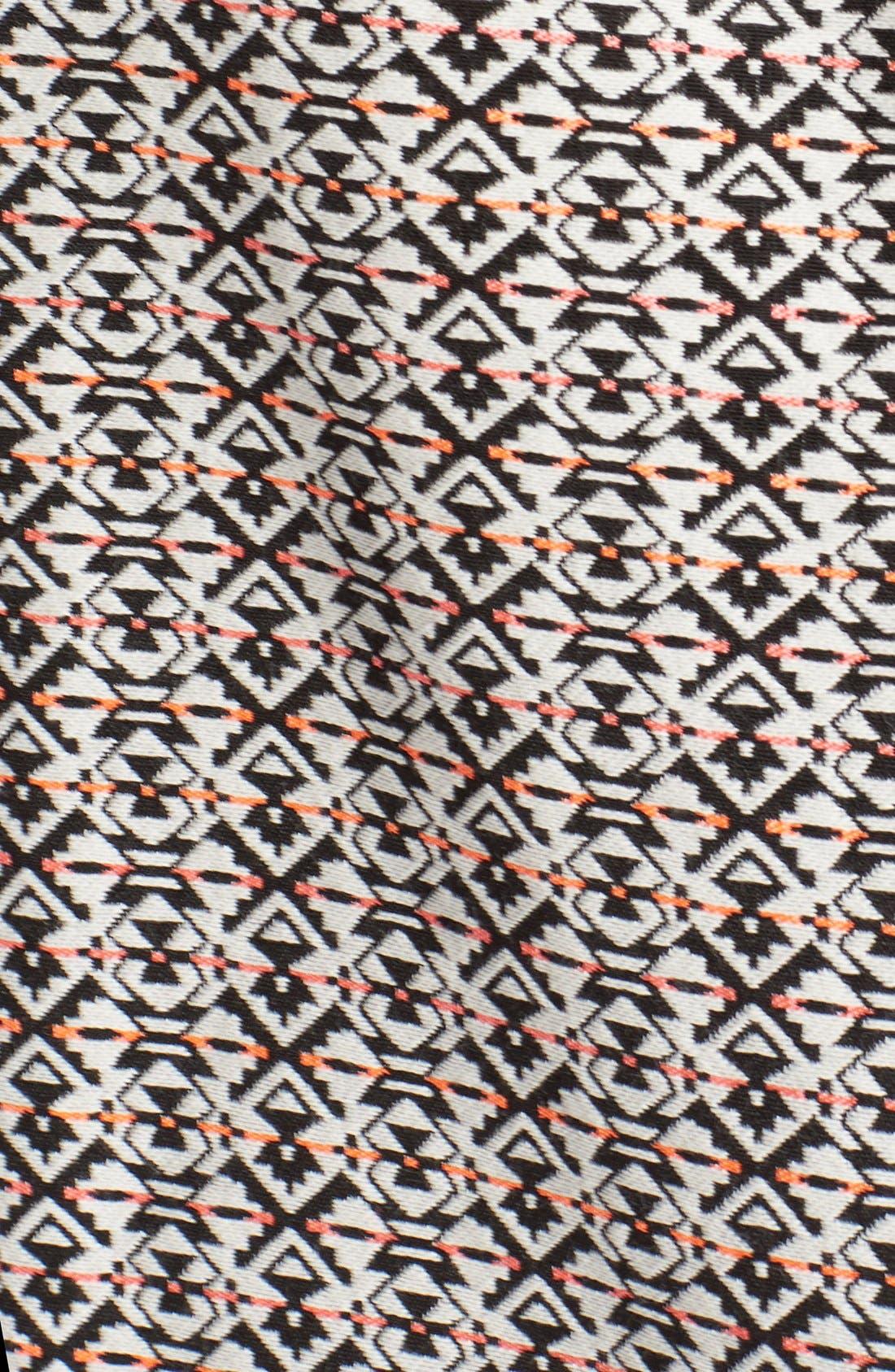 Alternate Image 5  - Tart 'Aviana' Print Collarless Jacket (Plus Size)