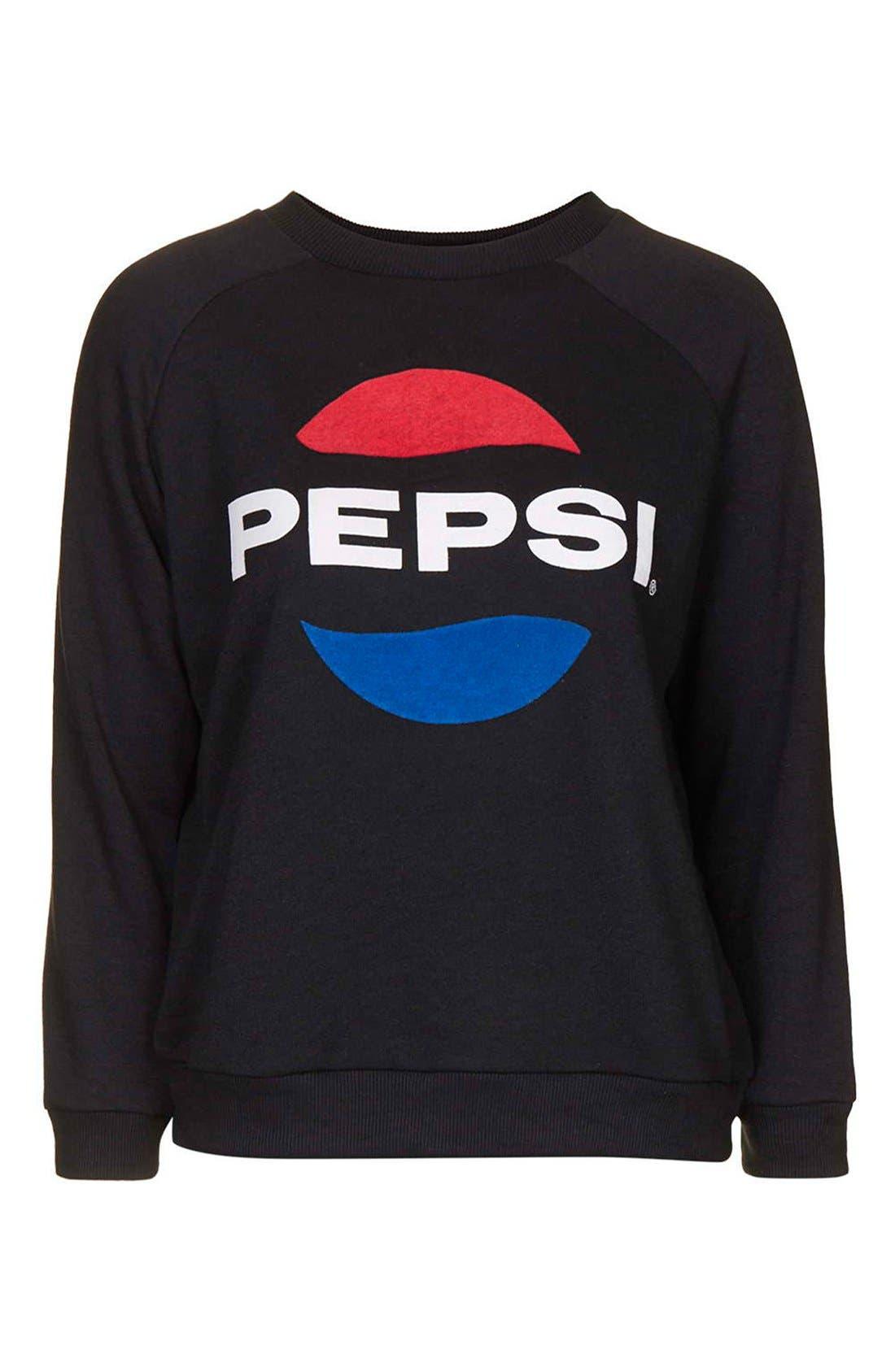Alternate Image 3  - Topshop Tee and Cake 'Pepsi' Sweatshirt (Petite)