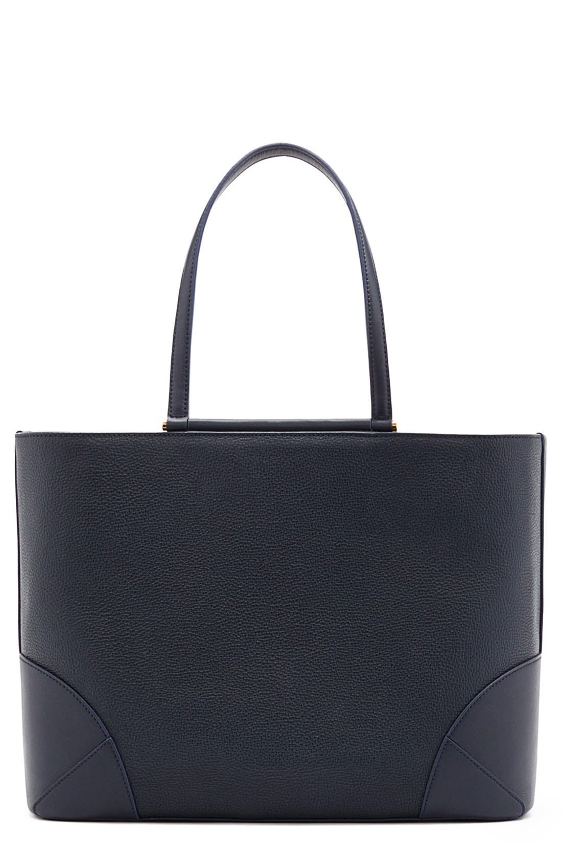 Alternate Image 1 Selected - MCM 'Medium Claudia' Leather Shopper