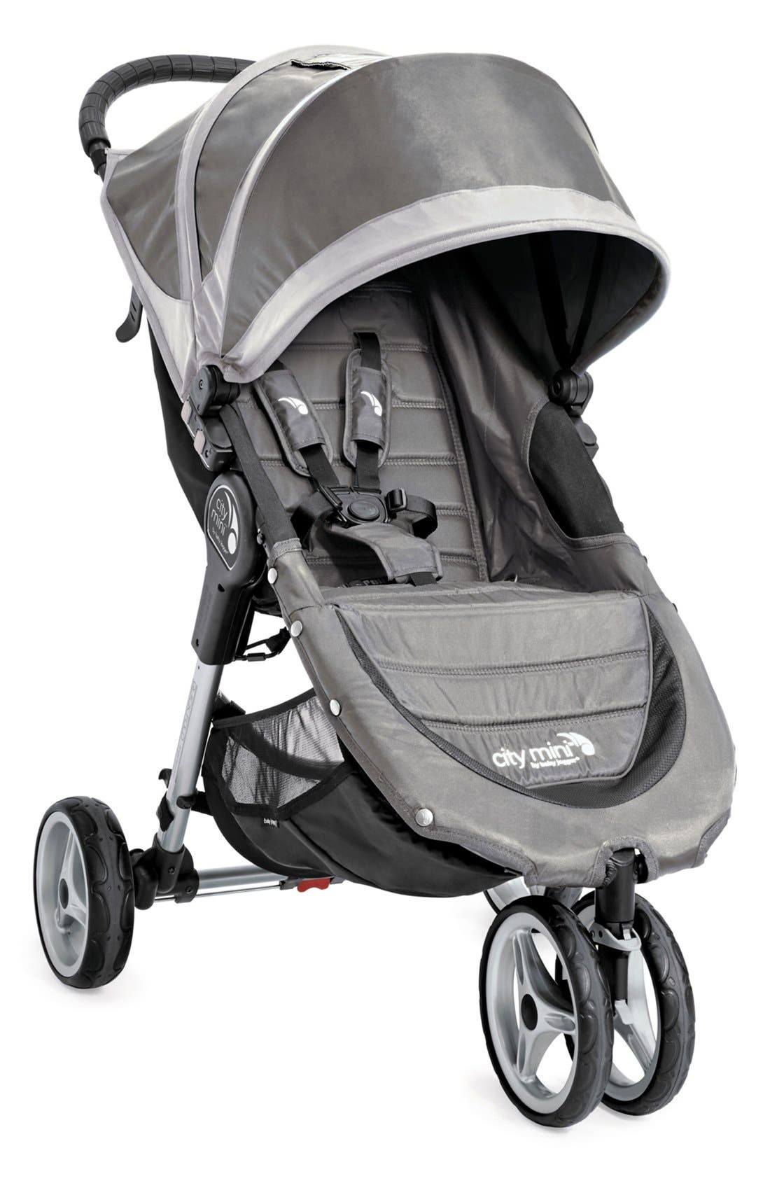 'City Mini<sup>®</sup>' Single Stroller,                         Main,                         color, Steel Gray