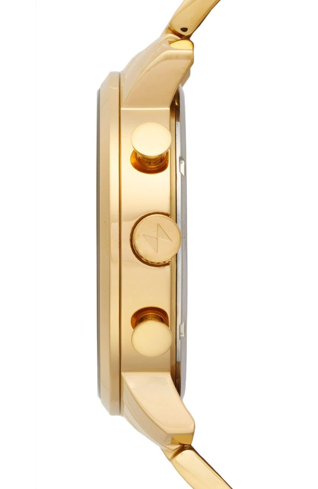 Alternate Image 3  - MVMT Chronograph Bracelet Watch, 45mm