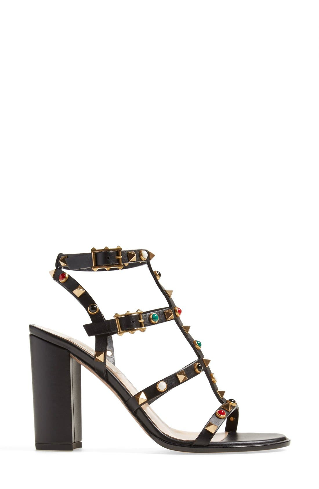 Alternate Image 4  - Valentino 'Vitello' Studded Sandal (Women)