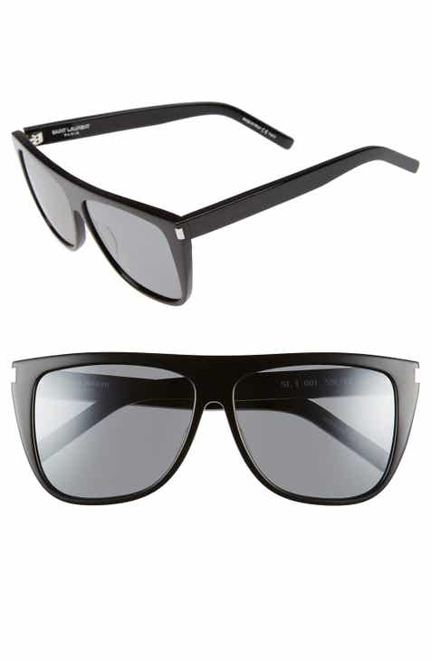 bb181e37c7 Saint Laurent SL1 59mm Flat Top Sunglasses
