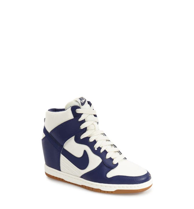 366ae6c36341 ... Main Image - Nike Dunk Sky Hi - Essential Wedge Sneaker .