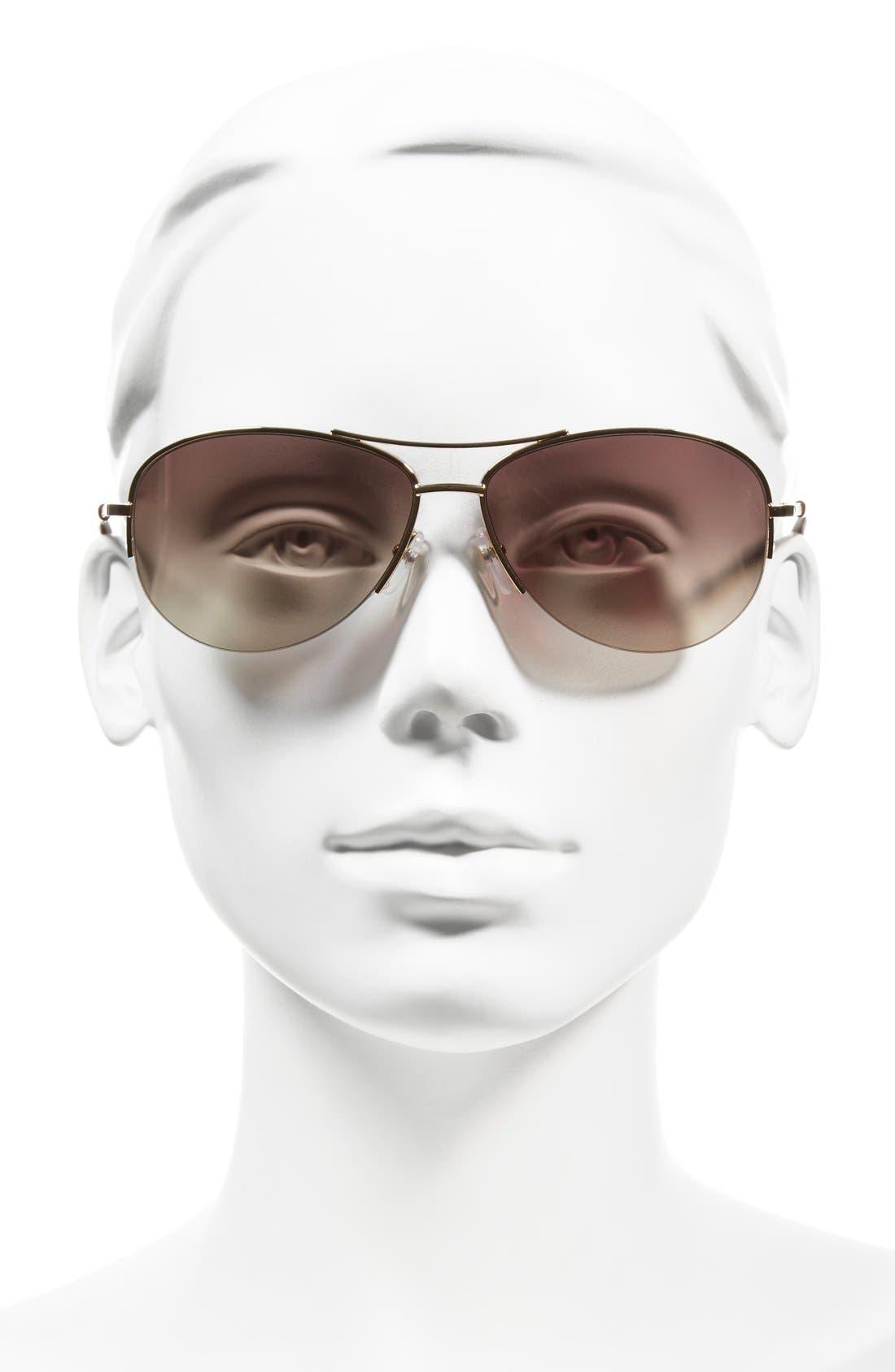 Alternate Image 2  - MARC JACOBS 59mm Semi Rimless Sunglasses