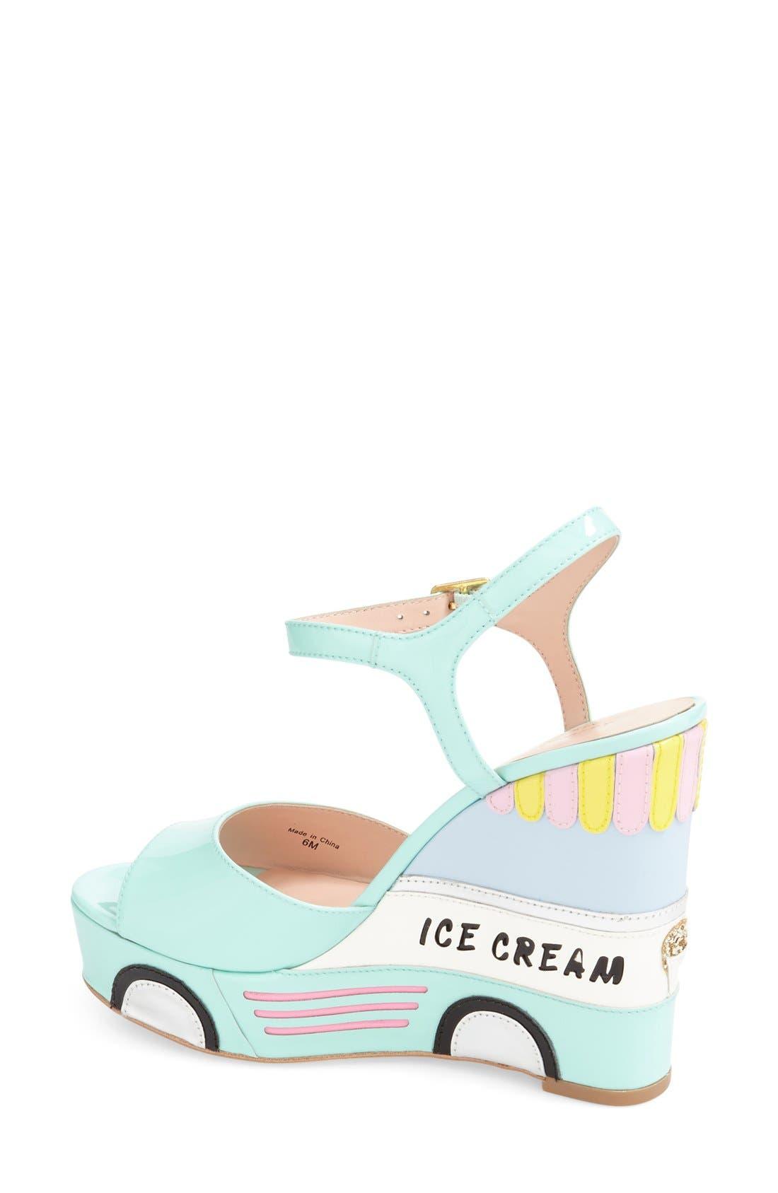 Alternate Image 2  - kate spade new york 'dotty' wedge sandal (Women)