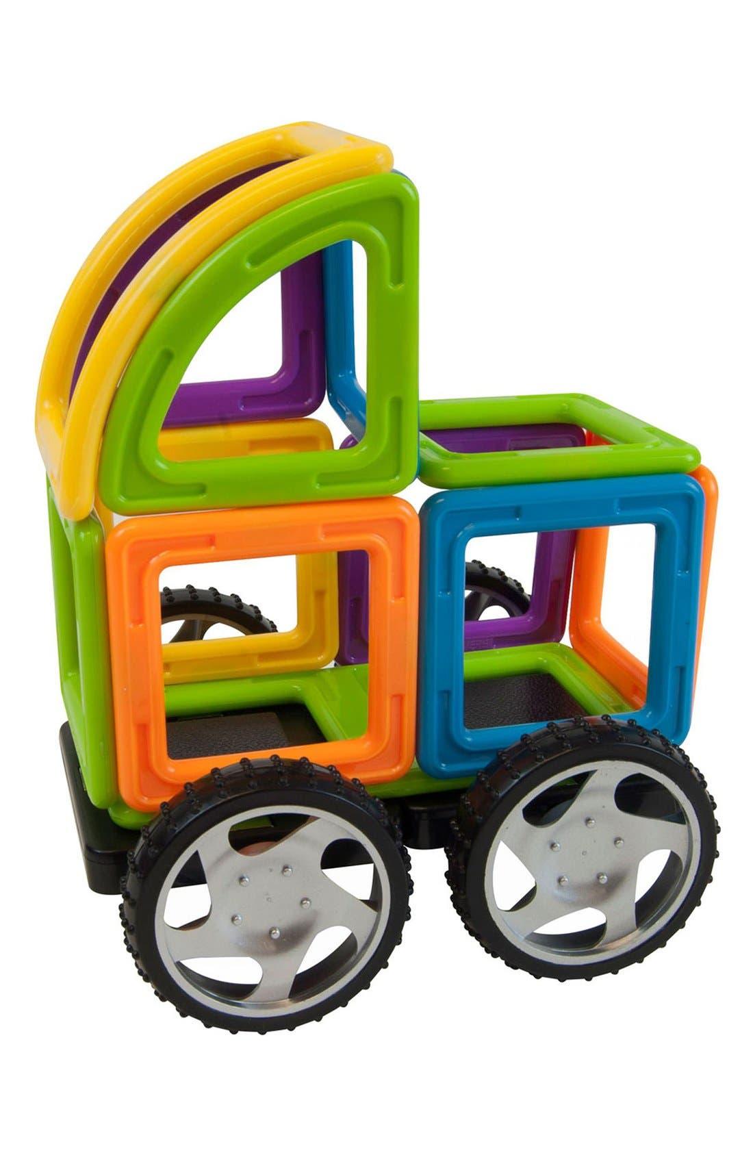 'Vehicle - WOW' Magnetic 3D Construction Set,                             Alternate thumbnail 8, color,                             Opaque Rainbow