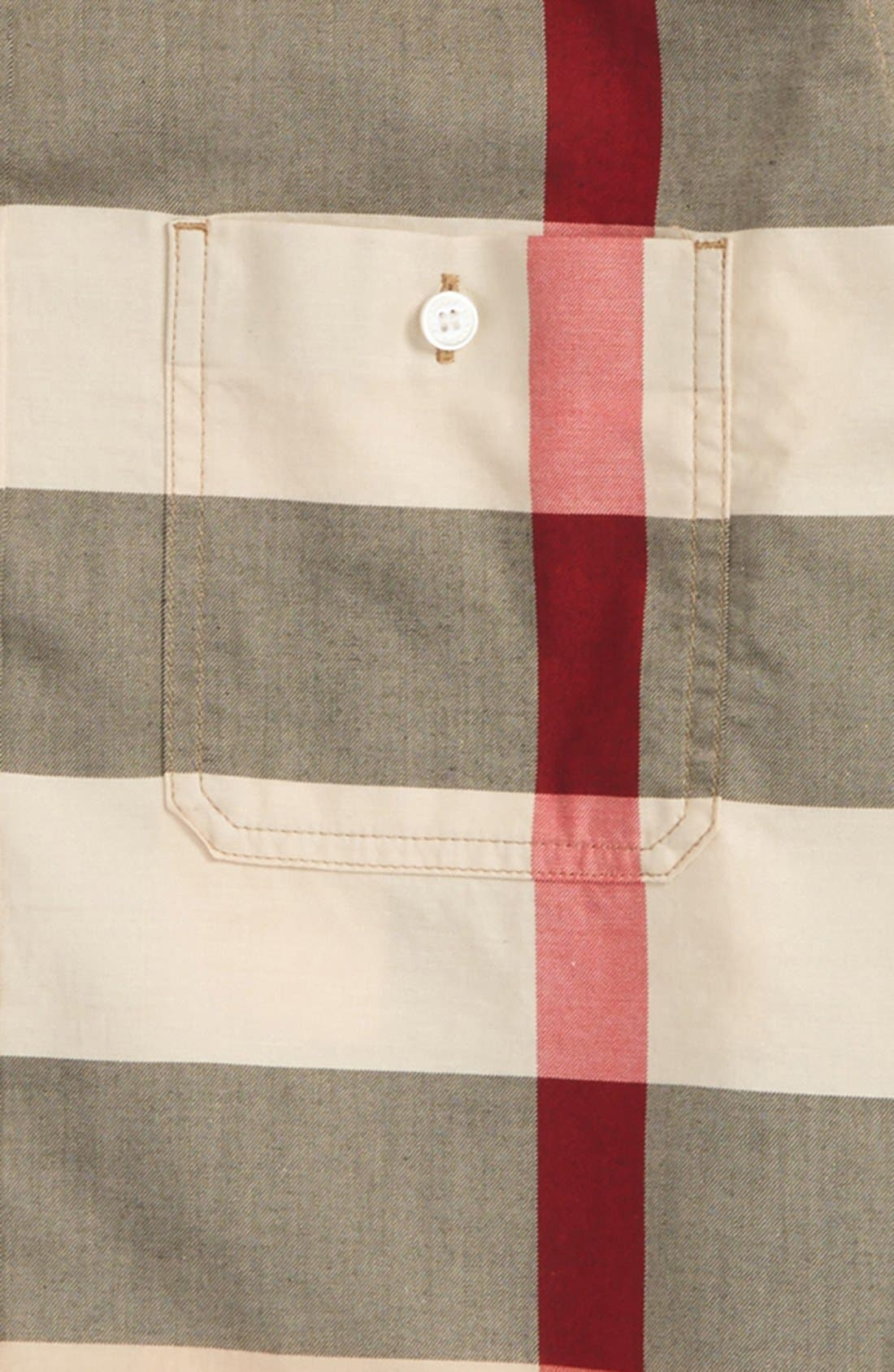 Alternate Image 2  - Burberry 'Mini Camber' Check Long Sleeve Shirt (Little Boys & Big Boys)