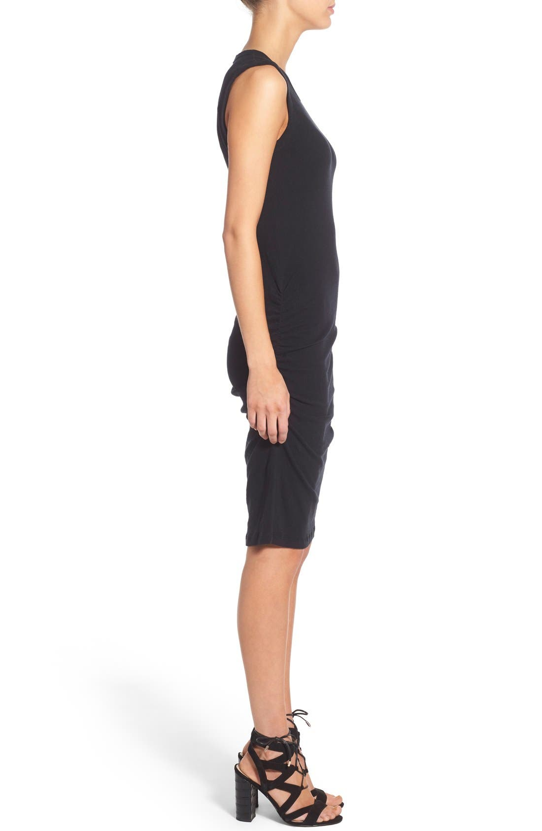 Alternate Image 3  - James Perse Ruched Tank Dress