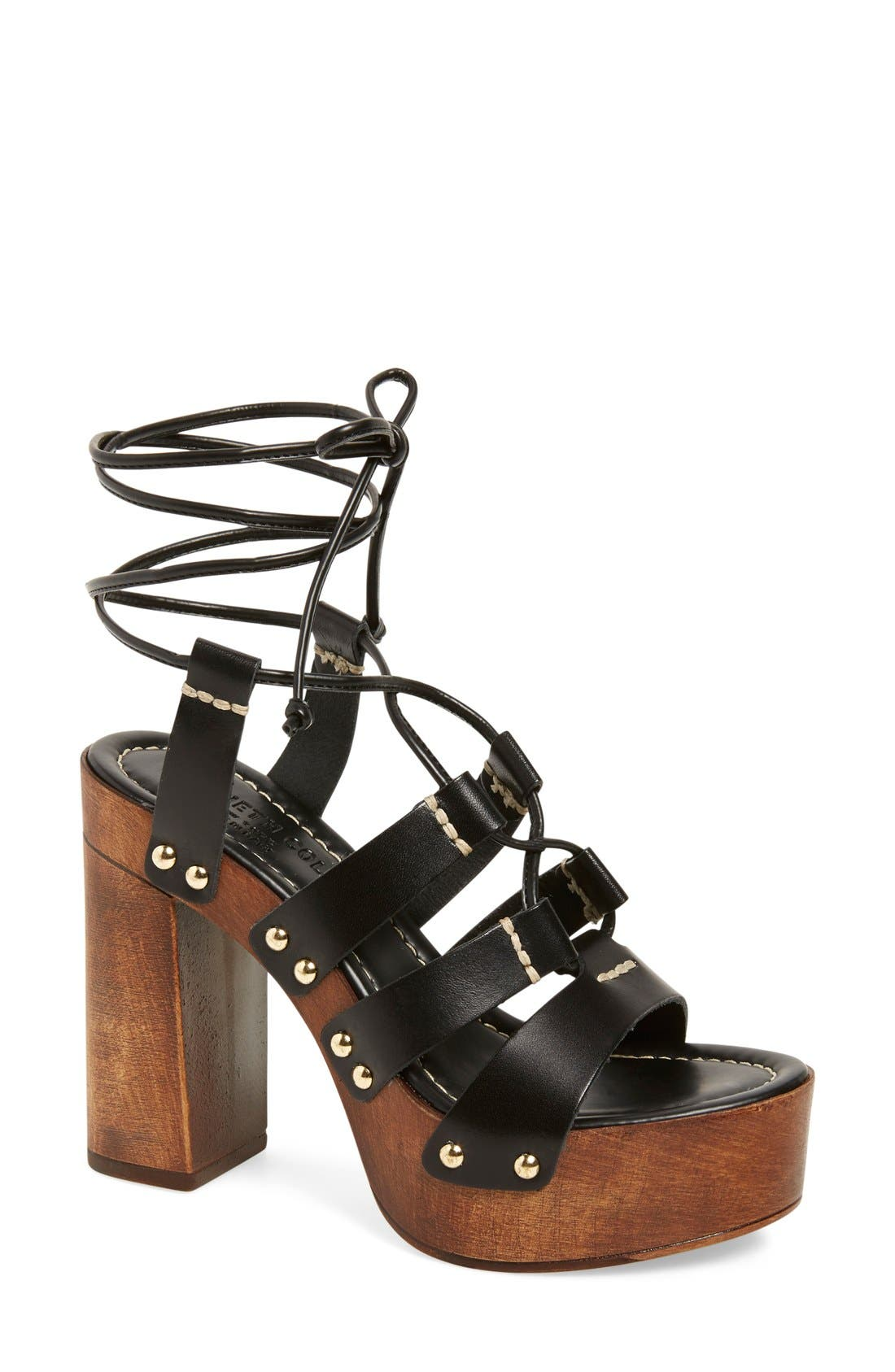 Alternate Image 1 Selected - Kenneth Cole New York 'Kenzie' Lace-Up Sandal (Women)