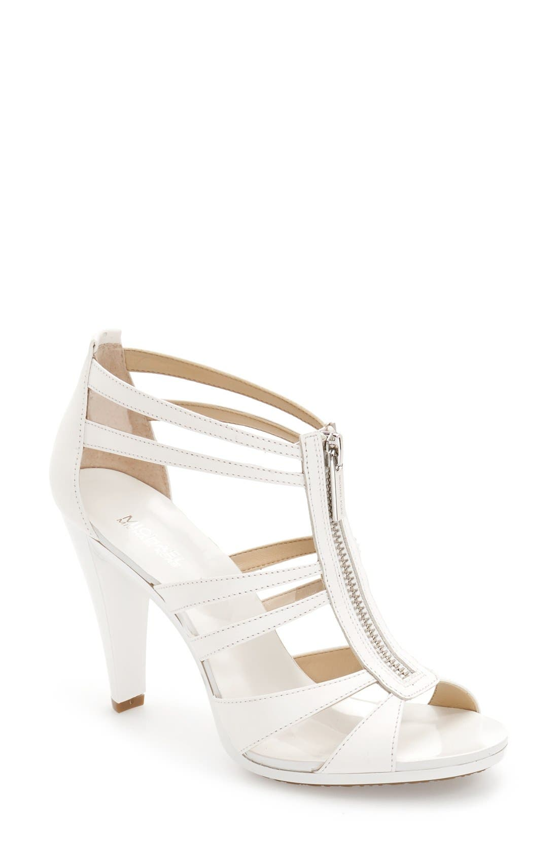 Alternate Image 1 Selected - MICHAEL Michael Kors 'Berkley' T-Strap Sandal (Women)