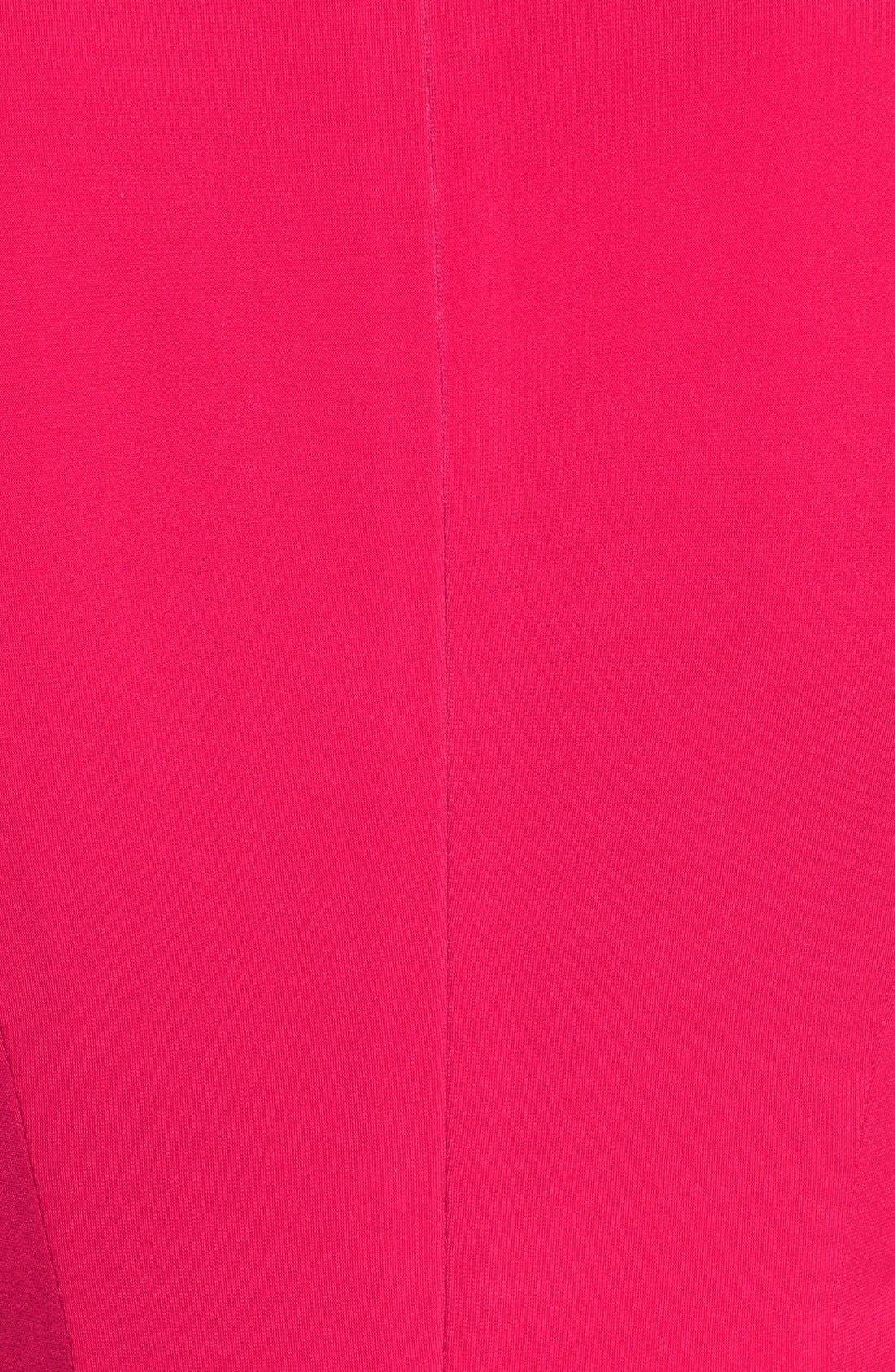 Alternate Image 5  - Catherine Catherine Malandrino 'Emily' Cold Shoulder Twist Front Dress