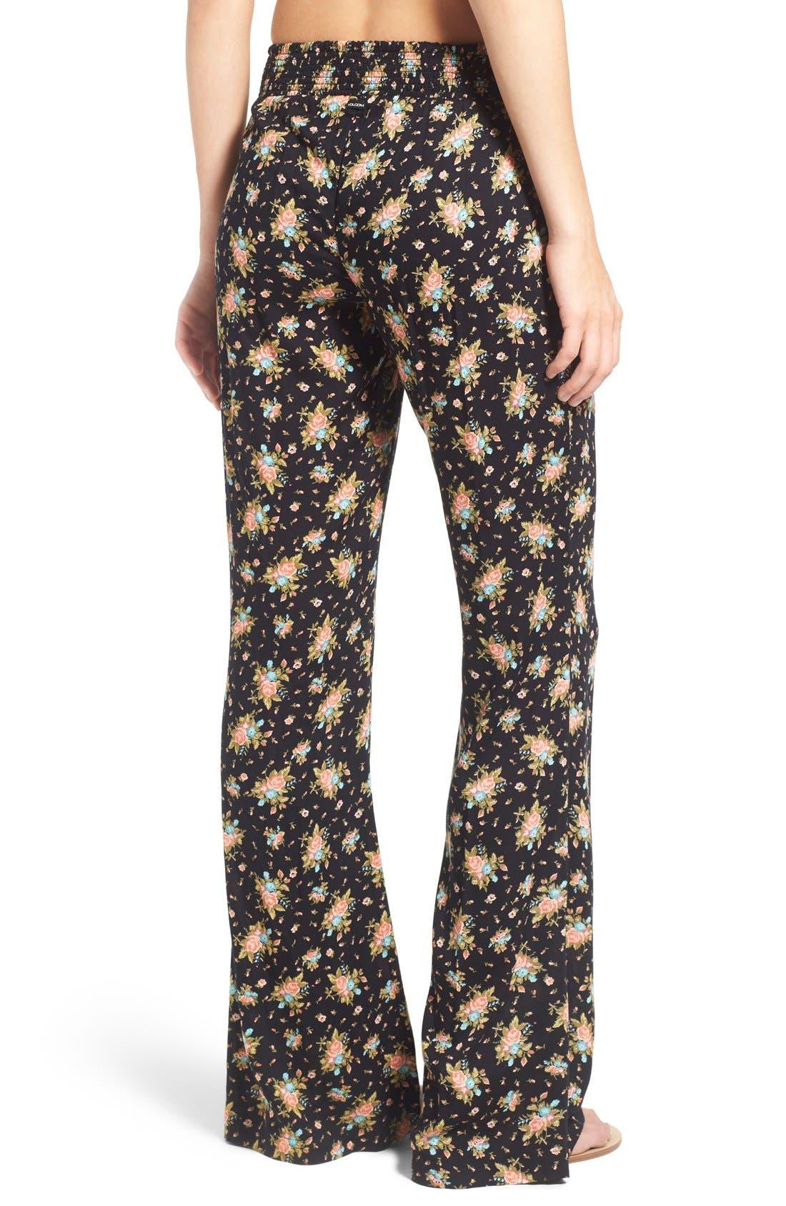 Alternate Image 2  - Volcom 'Rough Edges' Floral Print Pants
