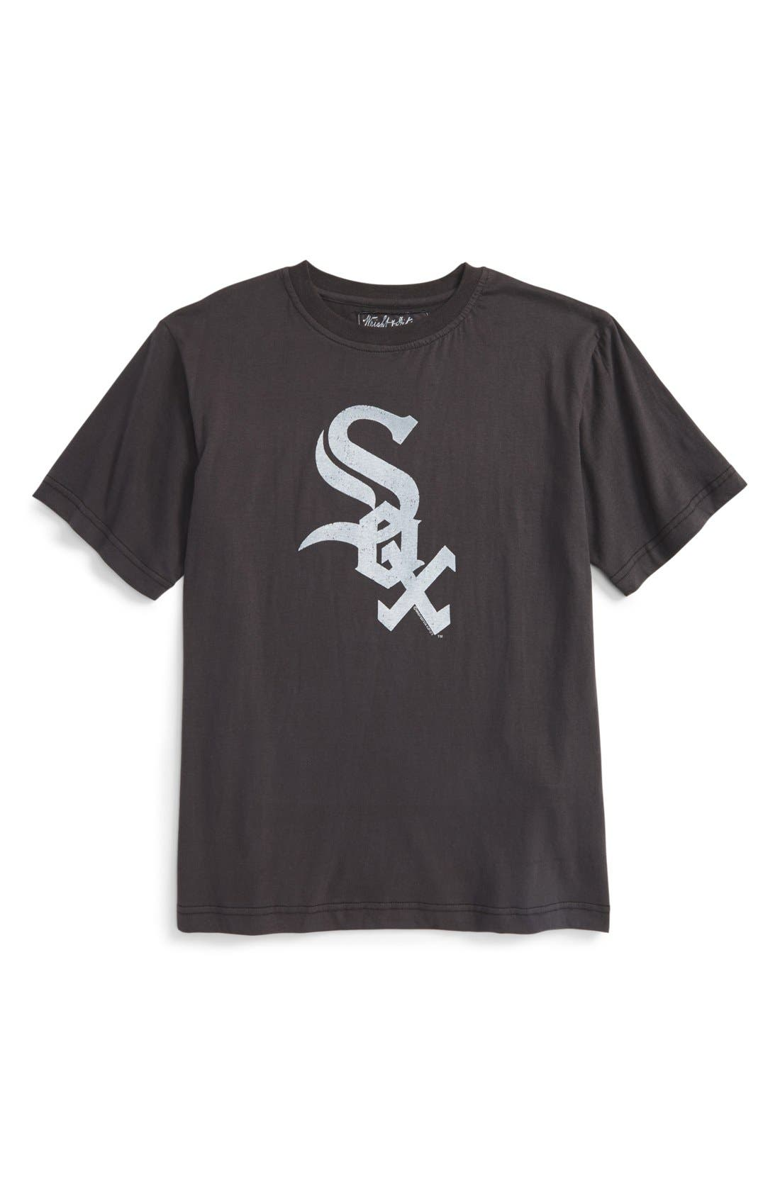 'Chicago White Sox' T-Shirt,                         Main,                         color, Black