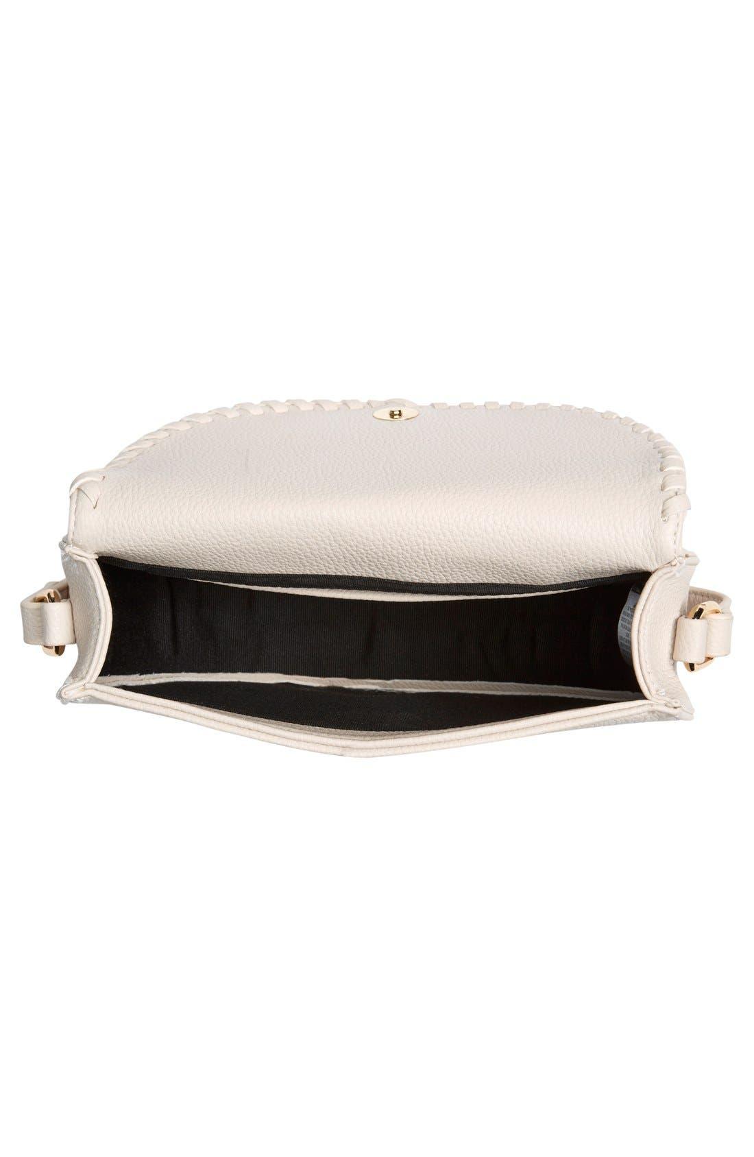 Alternate Image 4  - Street Level Tassel Flap Crossbody Bag