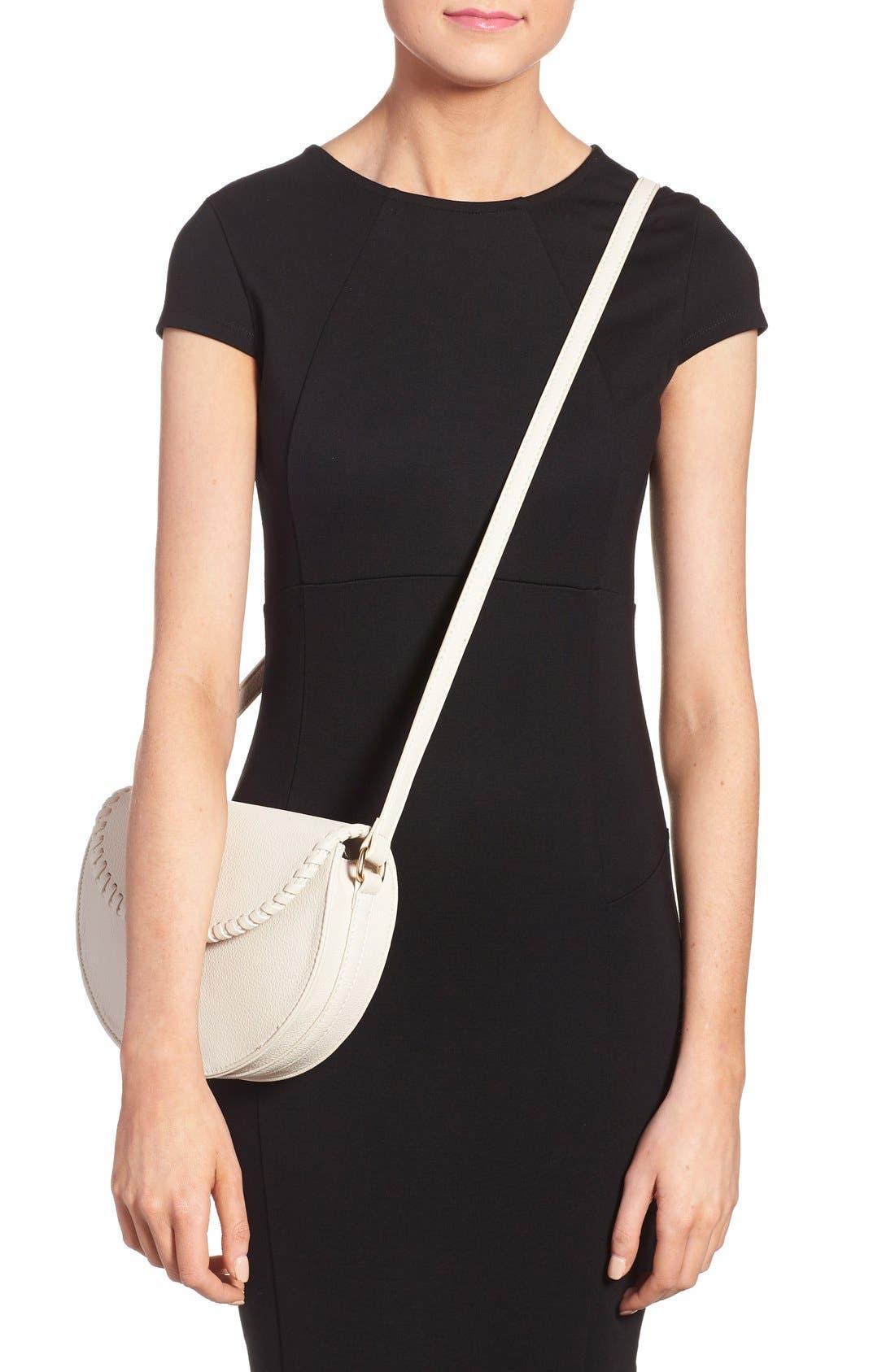 Alternate Image 2  - Street Level Tassel Flap Crossbody Bag