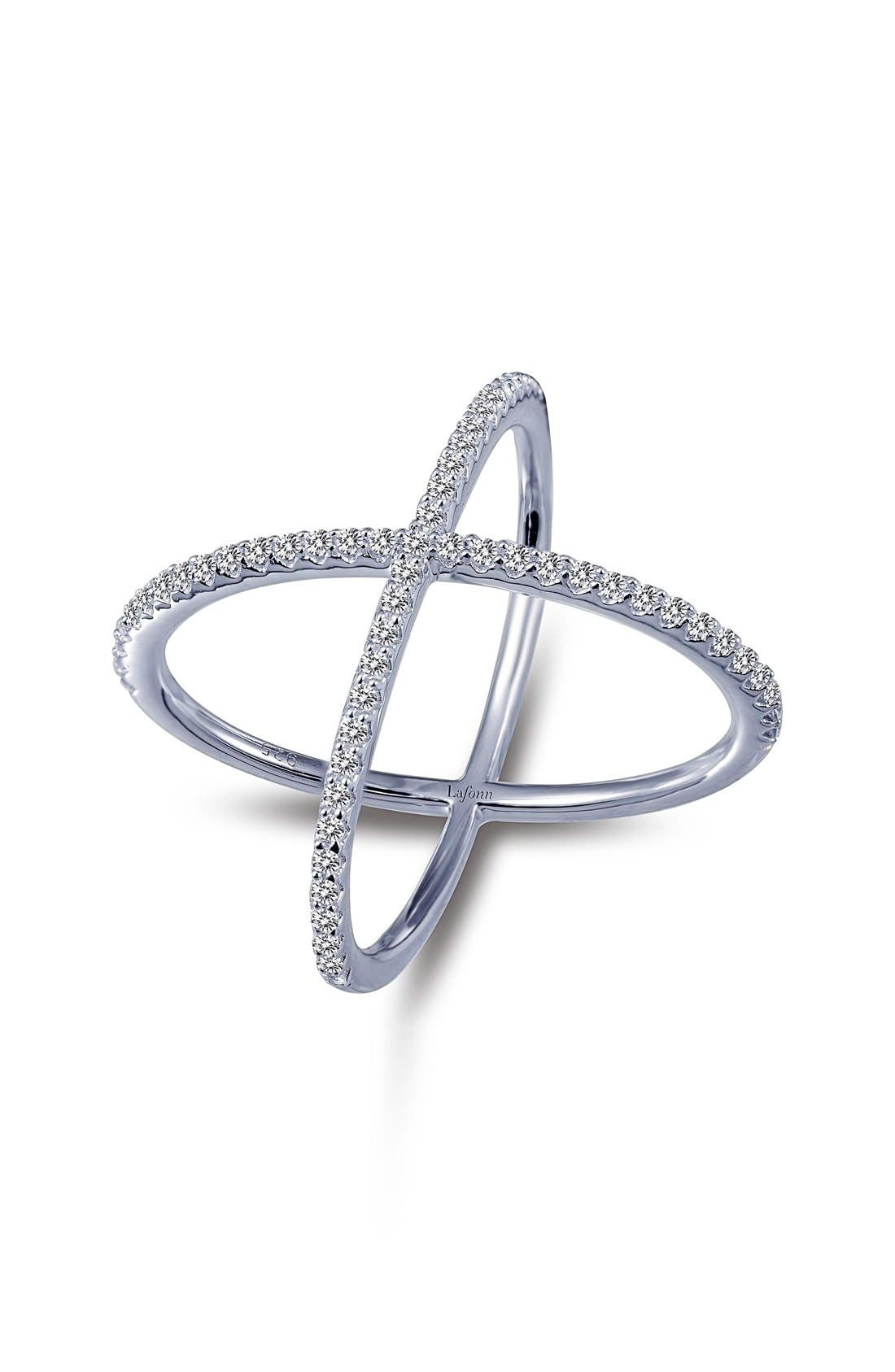 'Lassaire' Openwork Ring,                         Main,                         color, Silver