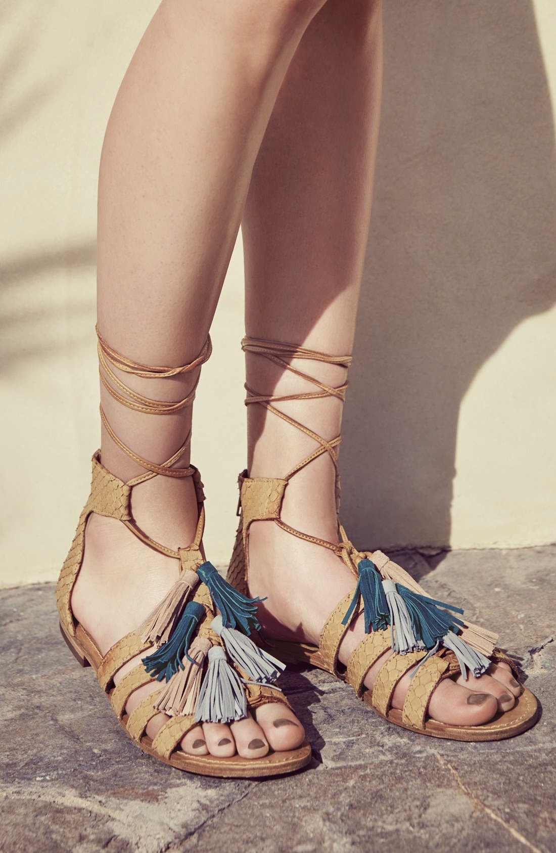 Alternate Image 5  - Steve Madden 'Monrowe' Tassel Sandal (Women)