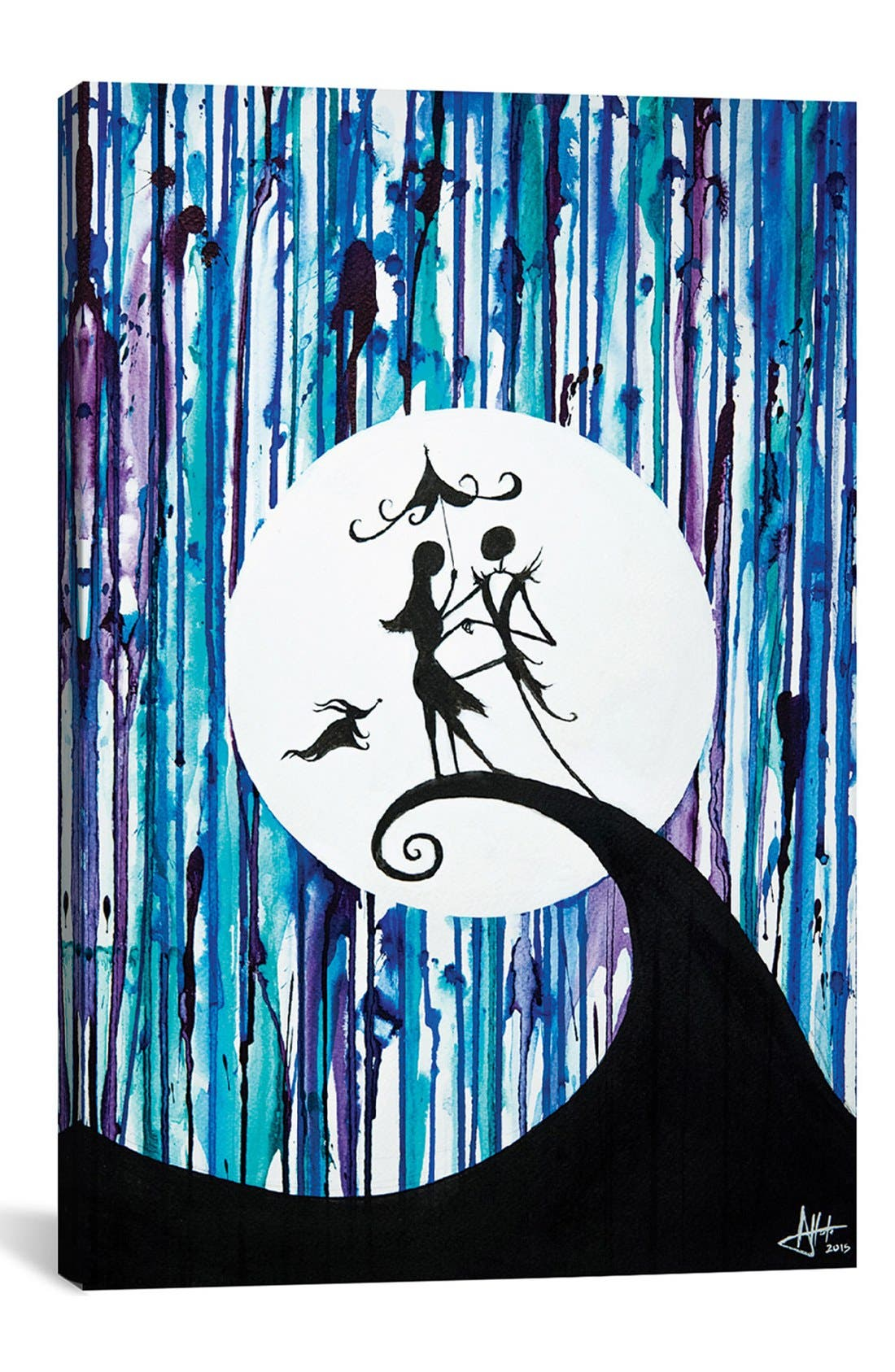 Main Image - iCanvas 'Something in the Air' Giclée Print Canvas Art
