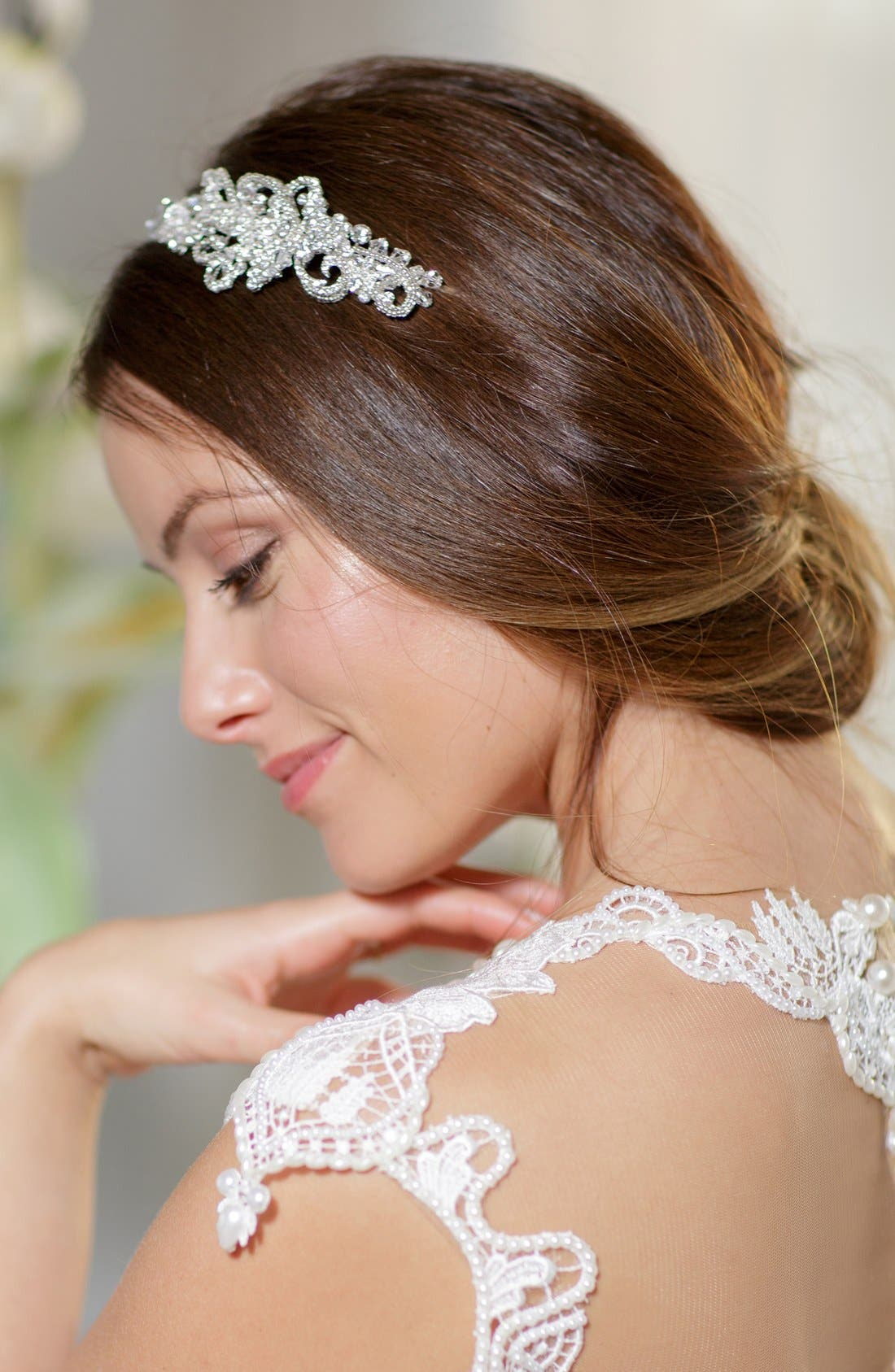 Alternate Image 4  - Brides & Hairpins 'Aphrodite' Jeweled Head Band