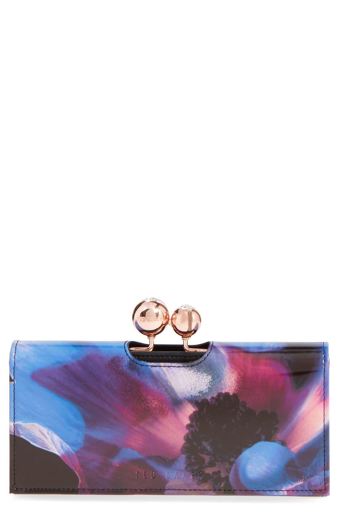 Alternate Image 1 Selected - Ted Baker London 'Cosmic Bloom' Matinee Wallet