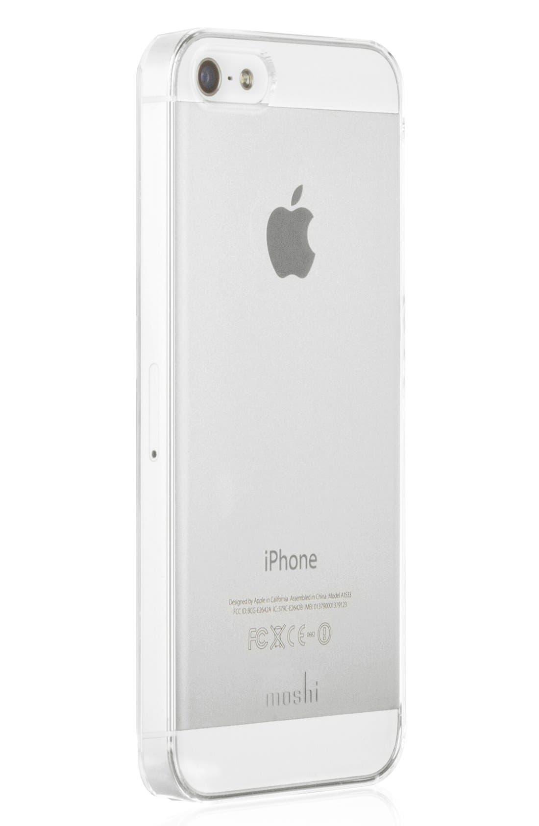 Alternate Image 1 Selected - Moshi 'iGlaze' Snap-On iPhone 5, 5s & SE Case