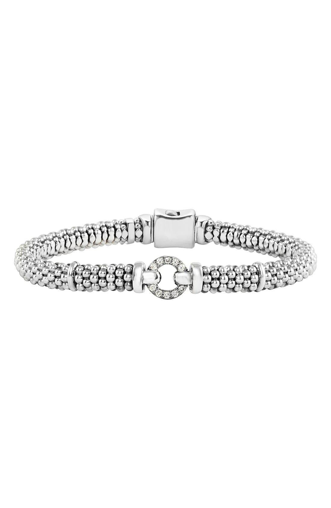 Alternate Image 1 Selected - LAGOS Enso Diamond Bracelet