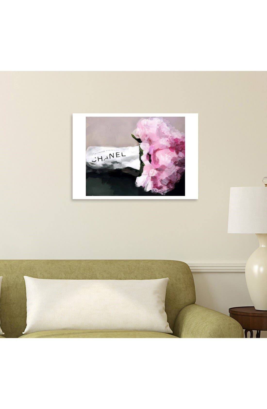 Alternate Image 2  - Oliver Gal 'Expensive Flowers' Canvas Wall Art