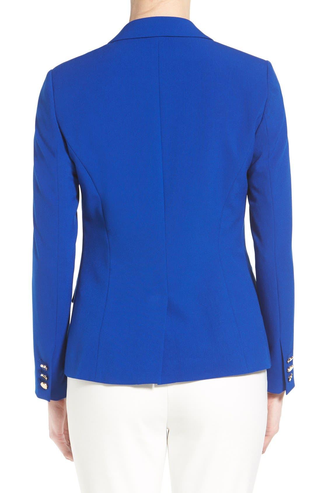 Alternate Image 2  - Ivanka Trump One-Button Jacket