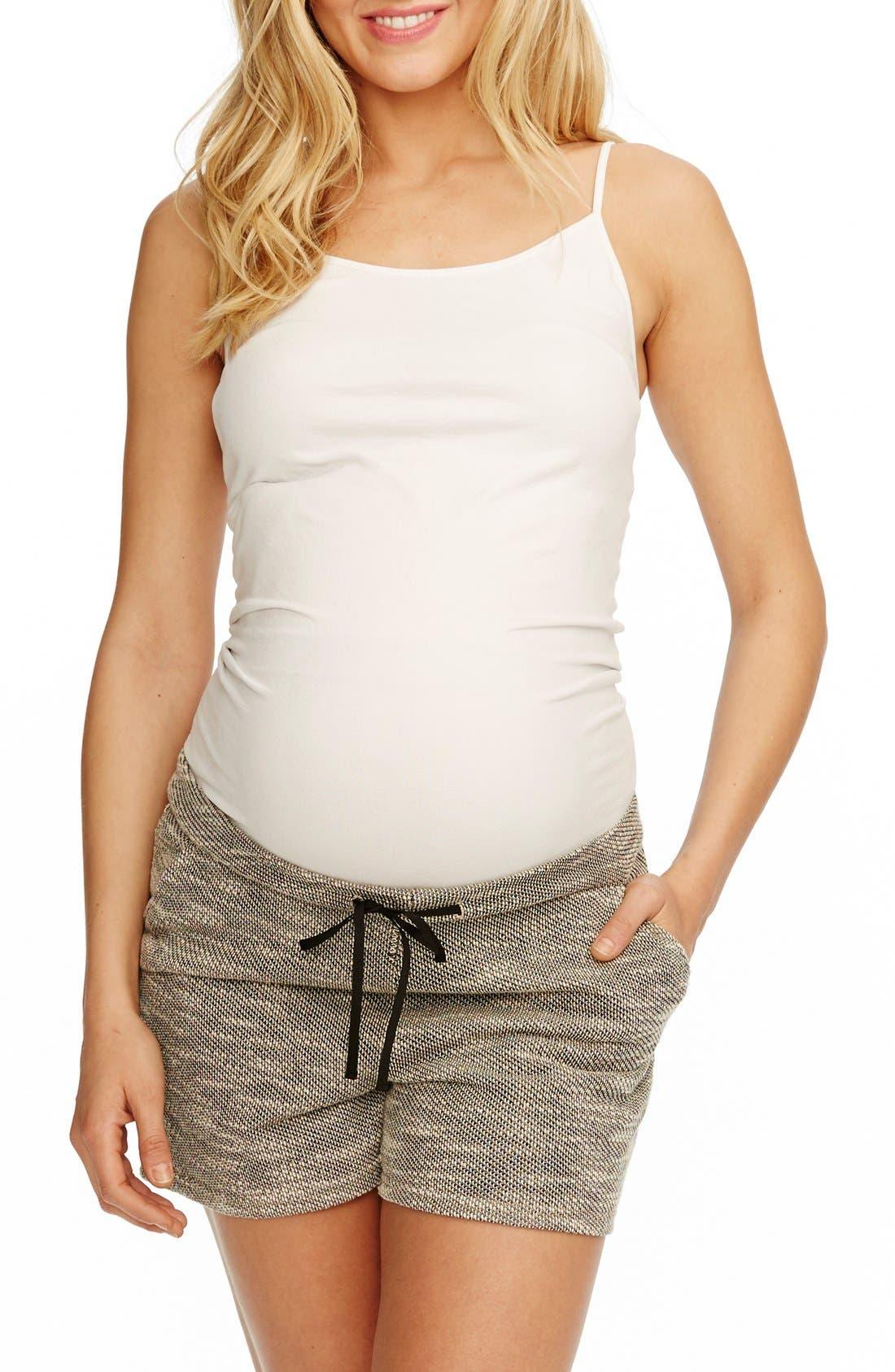 ROSIE POPE Boardwalk Woven Maternity Shorts