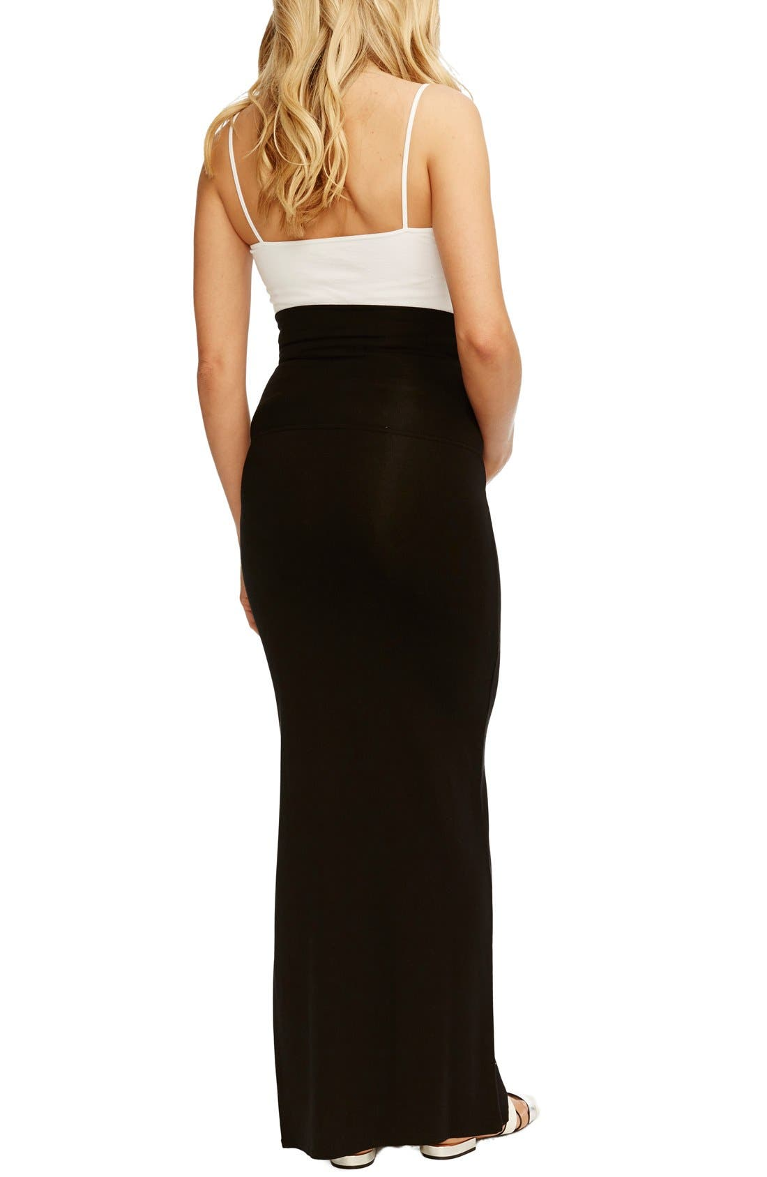 Alternate Image 2  - Rosie Pope 'Jessica' Maternity Maxi Skirt