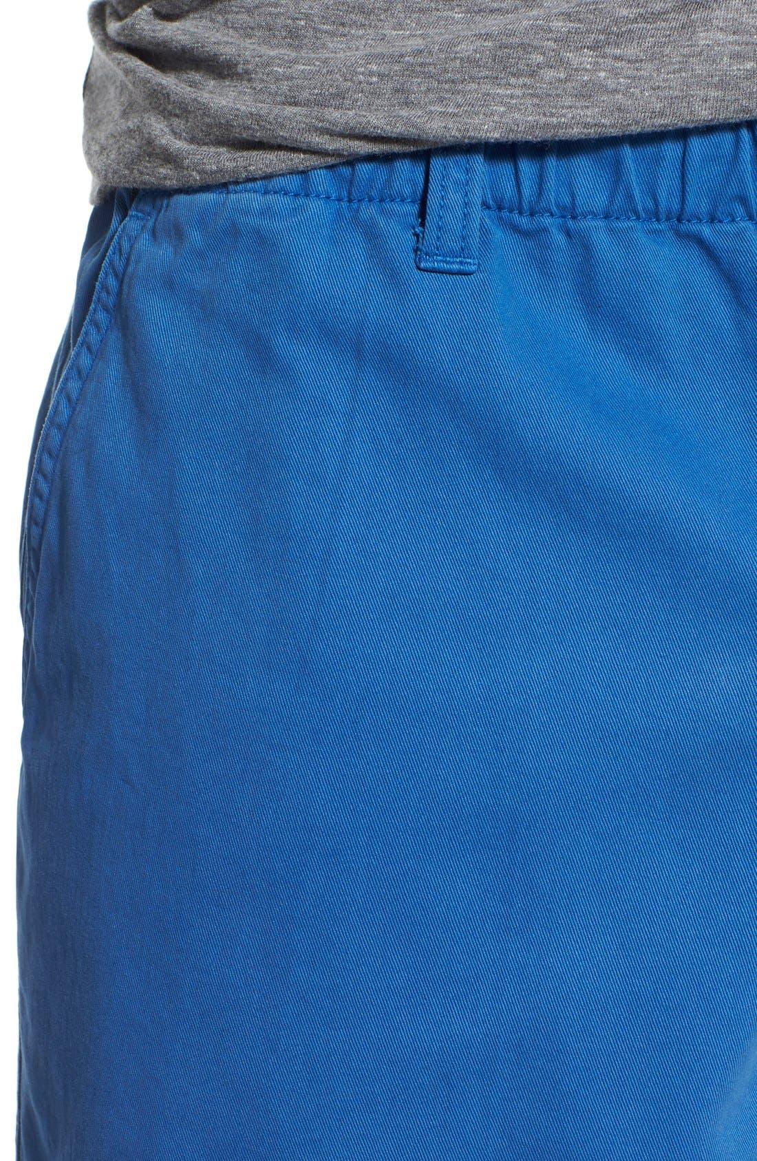 Alternate Image 4  - Vintage 1946 'Snappers' Vintage Washed Elastic Waistband Shorts