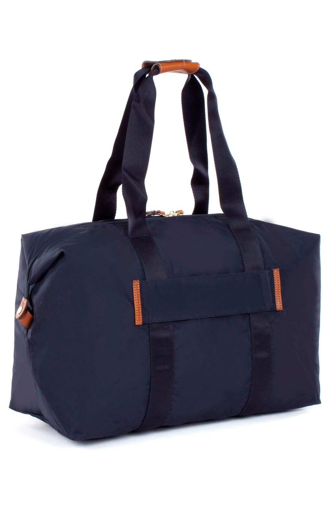 'X-Bag' Folding Duffel Bag,                             Alternate thumbnail 3, color,                             Navy