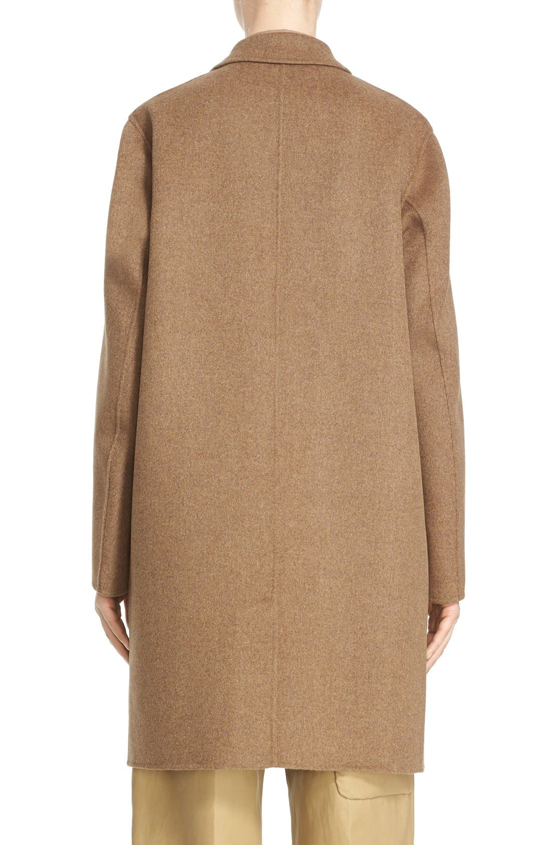 Alternate Image 2  - Sofie D'Hoore 'Click' Wool & Cashmere Long Coat