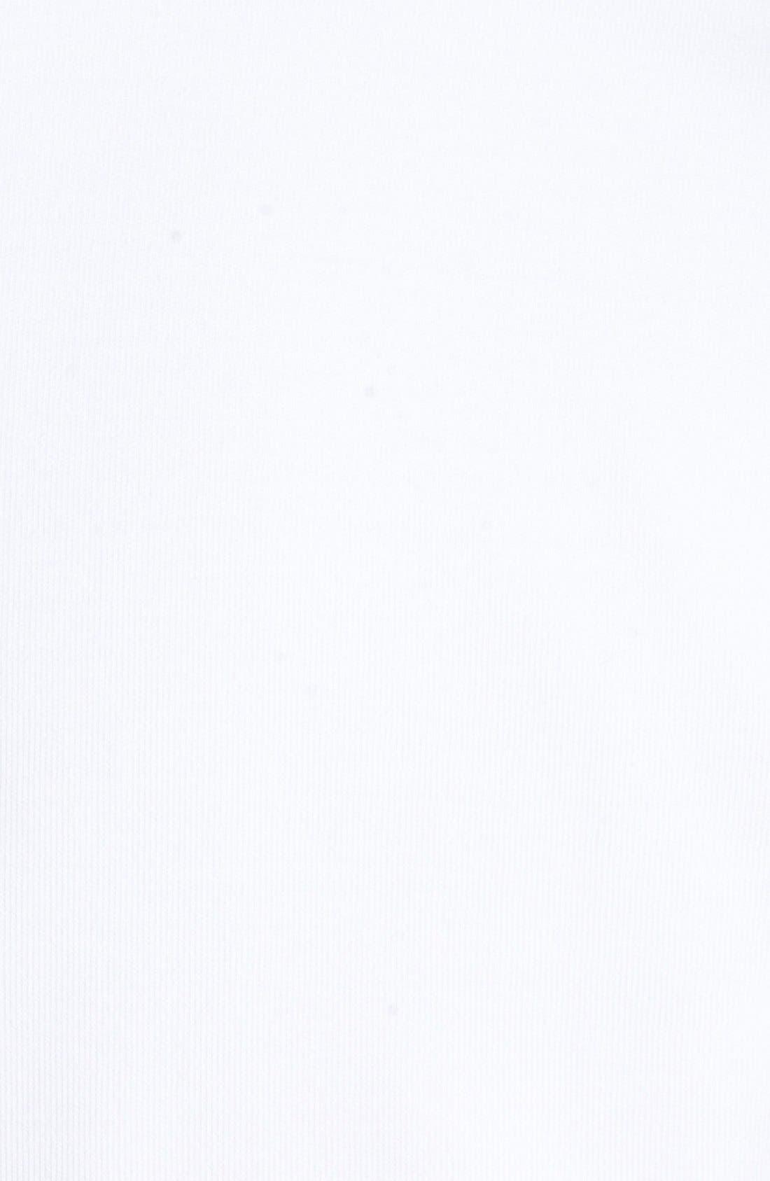Leaderboard Quarter Zip Pima Cotton Vest,                             Alternate thumbnail 5, color,                             White